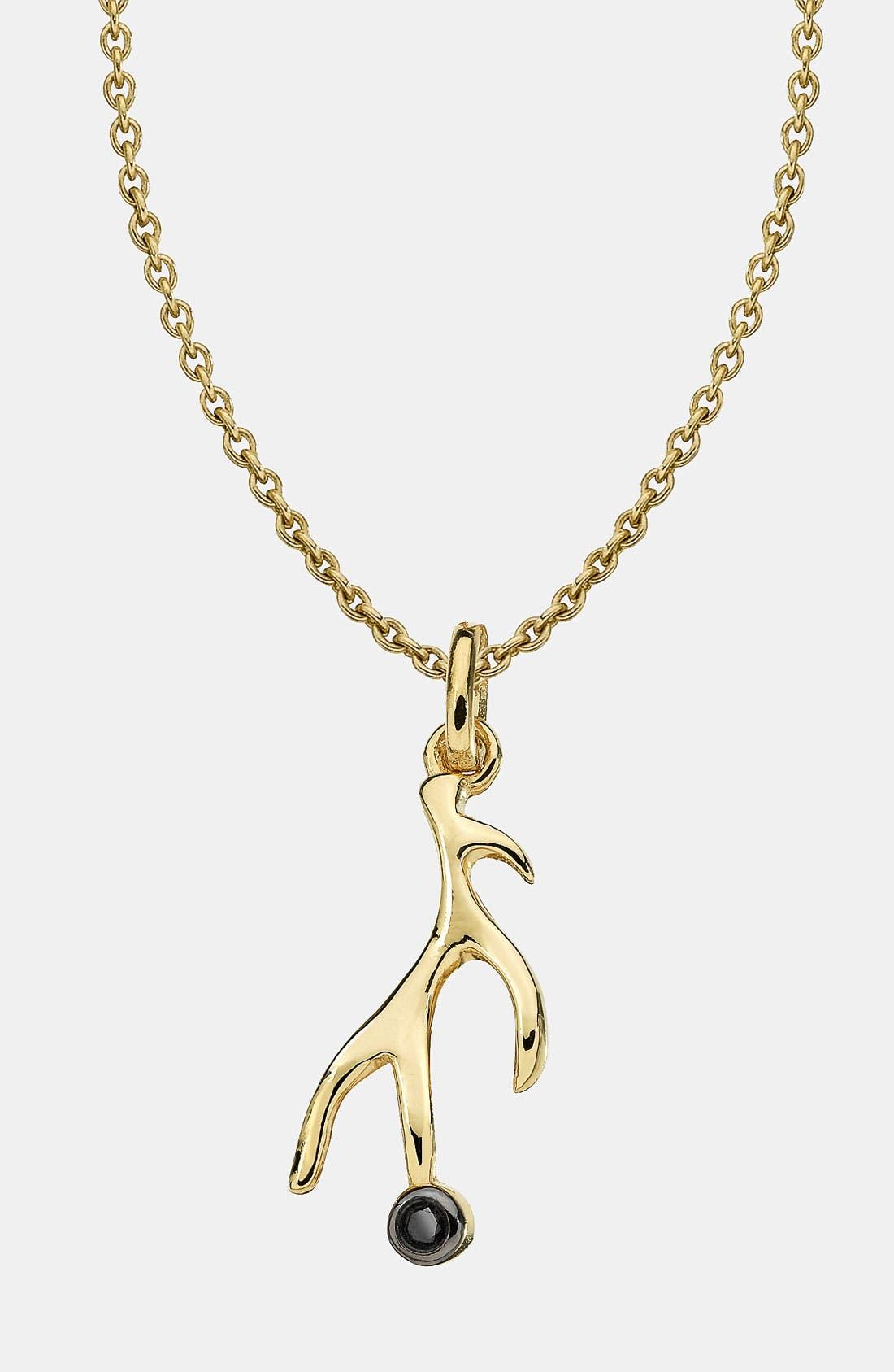 Main Image - Whitney Stern Antler Pendant Necklace