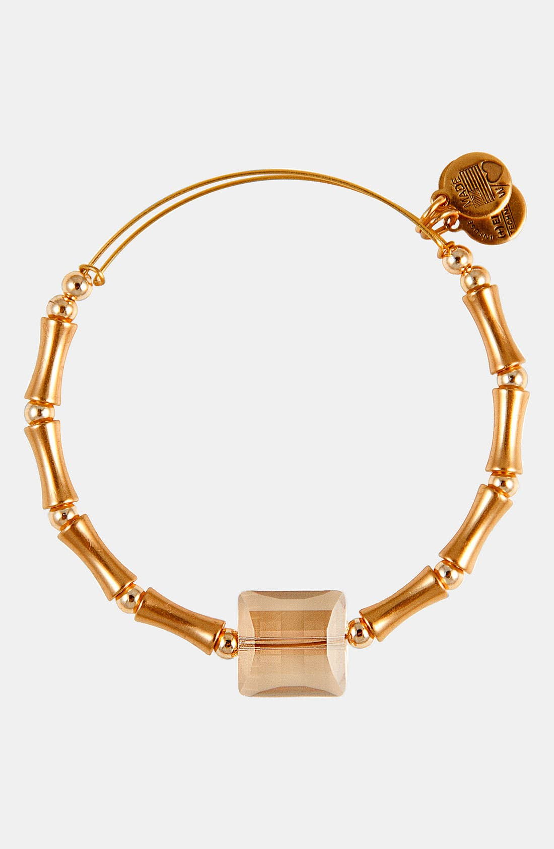 Main Image - Alex and Ani 'Square Up' Expandable Wire Bangle