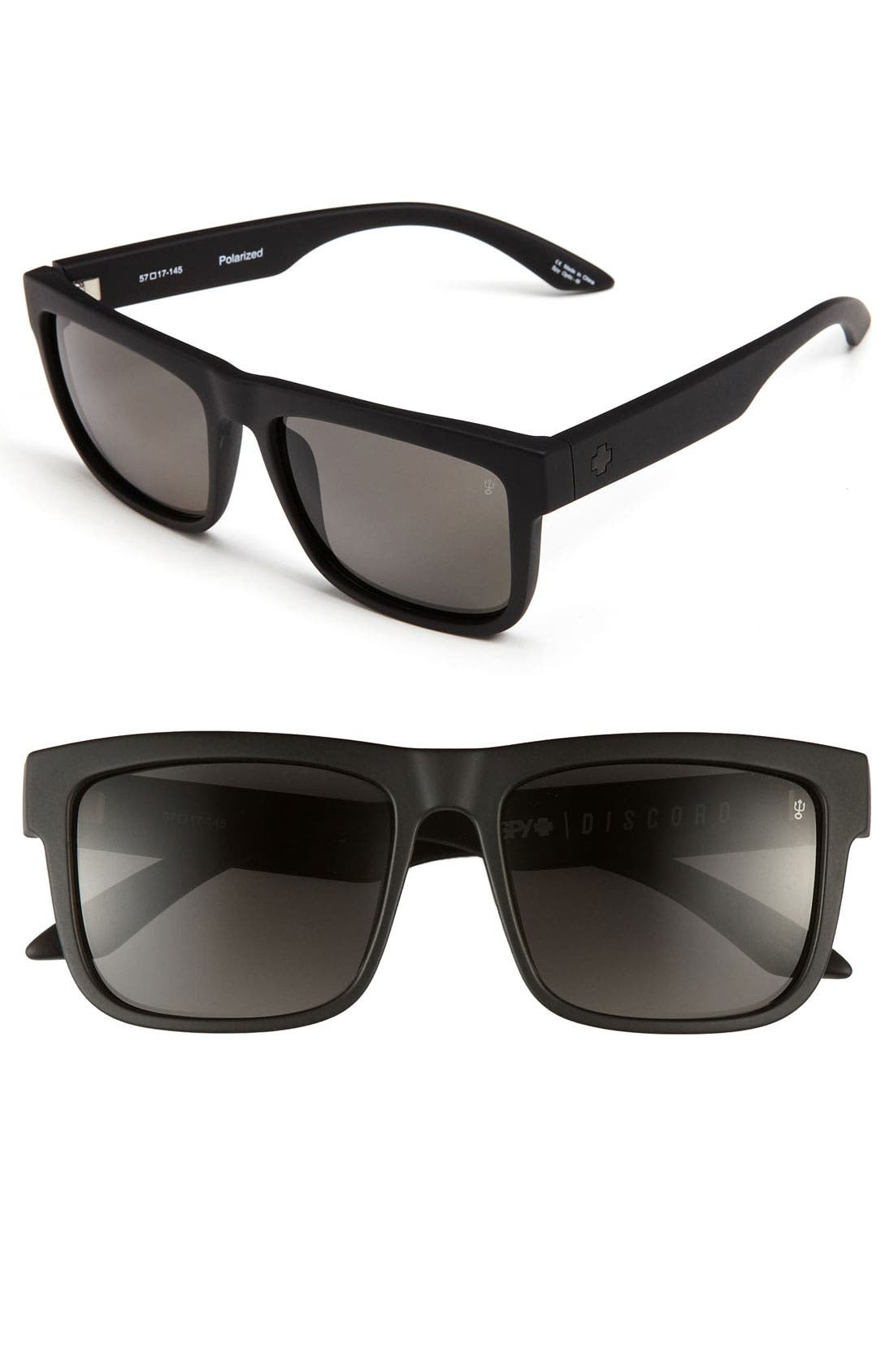 Alternate Image 1 Selected - SPY Optic 'Discord' 57mm Polarized Sunglasses