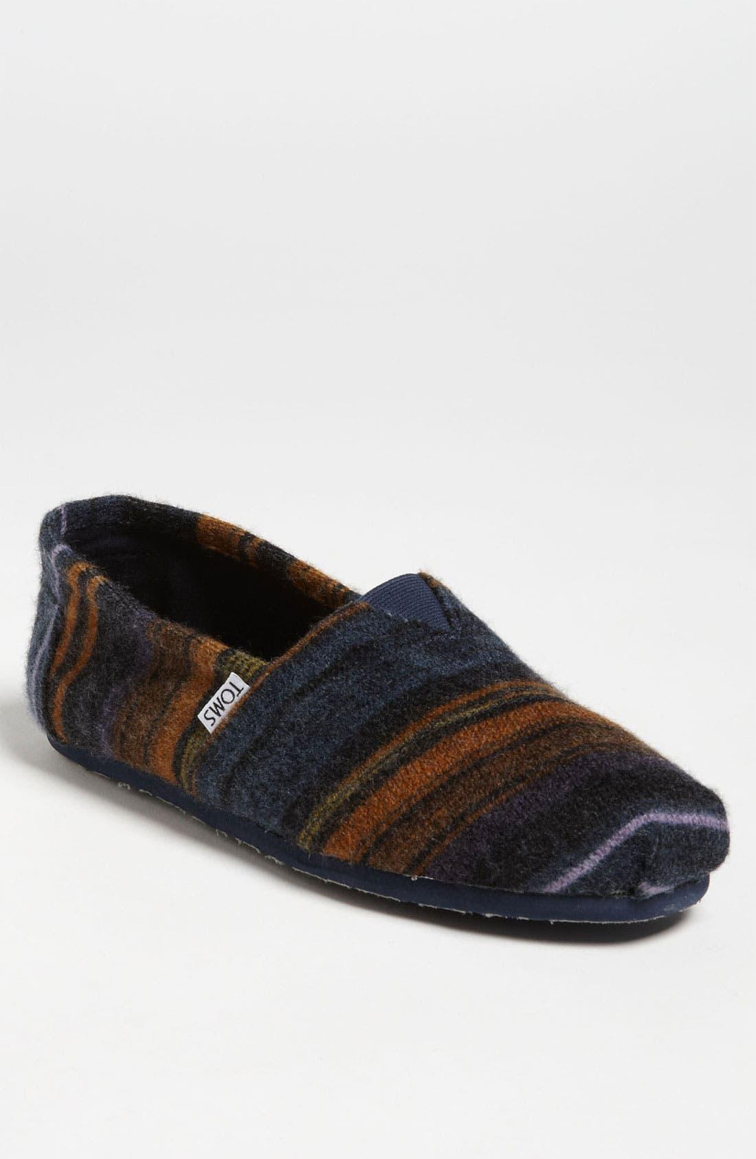 Alternate Image 1 Selected - TOMS 'Classic - Novelty Knit' Slip-On (Men)