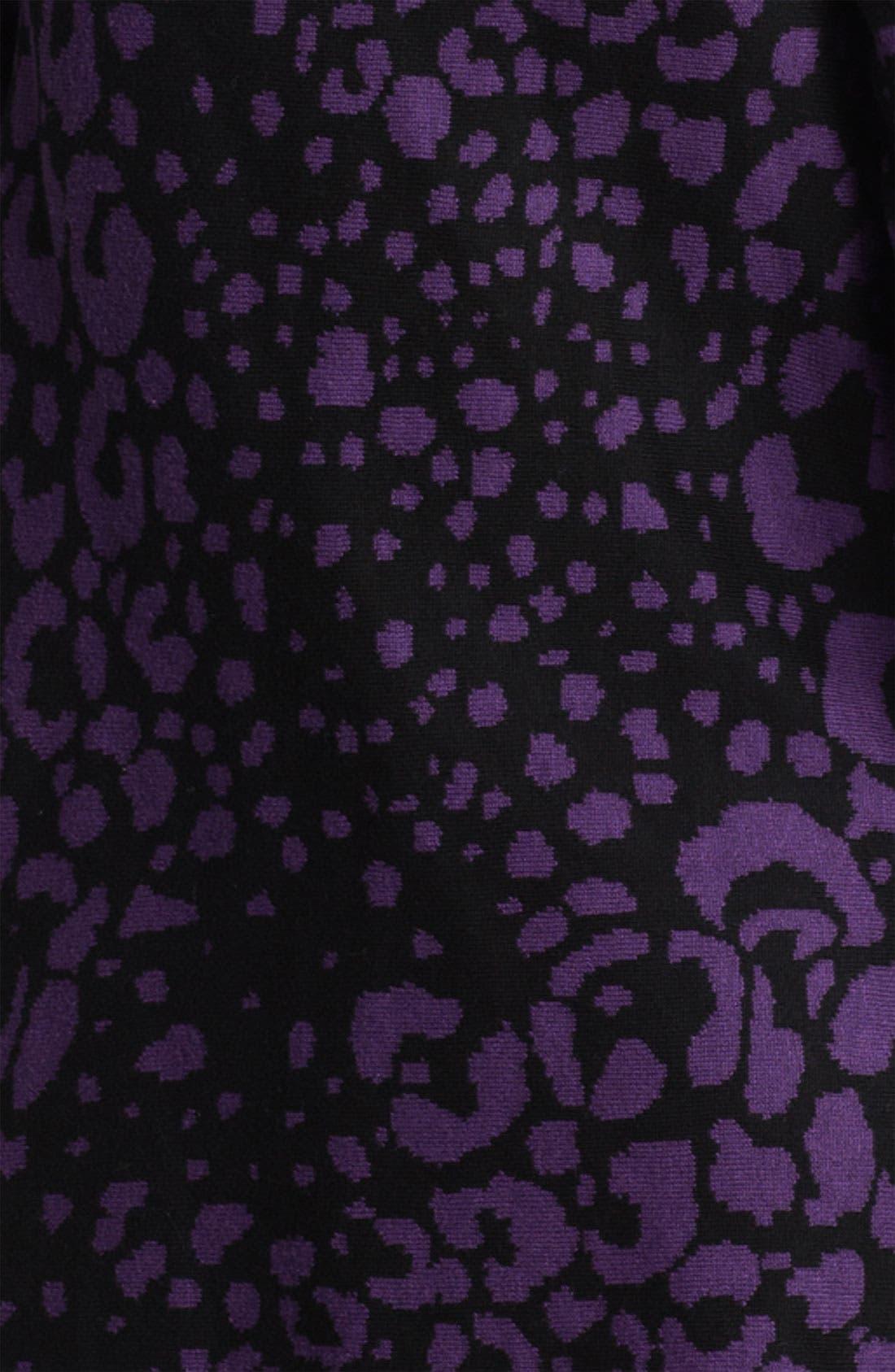 Alternate Image 3  - Beatrix Ost Leopard Pattern Cardigan (Online Exclusive)