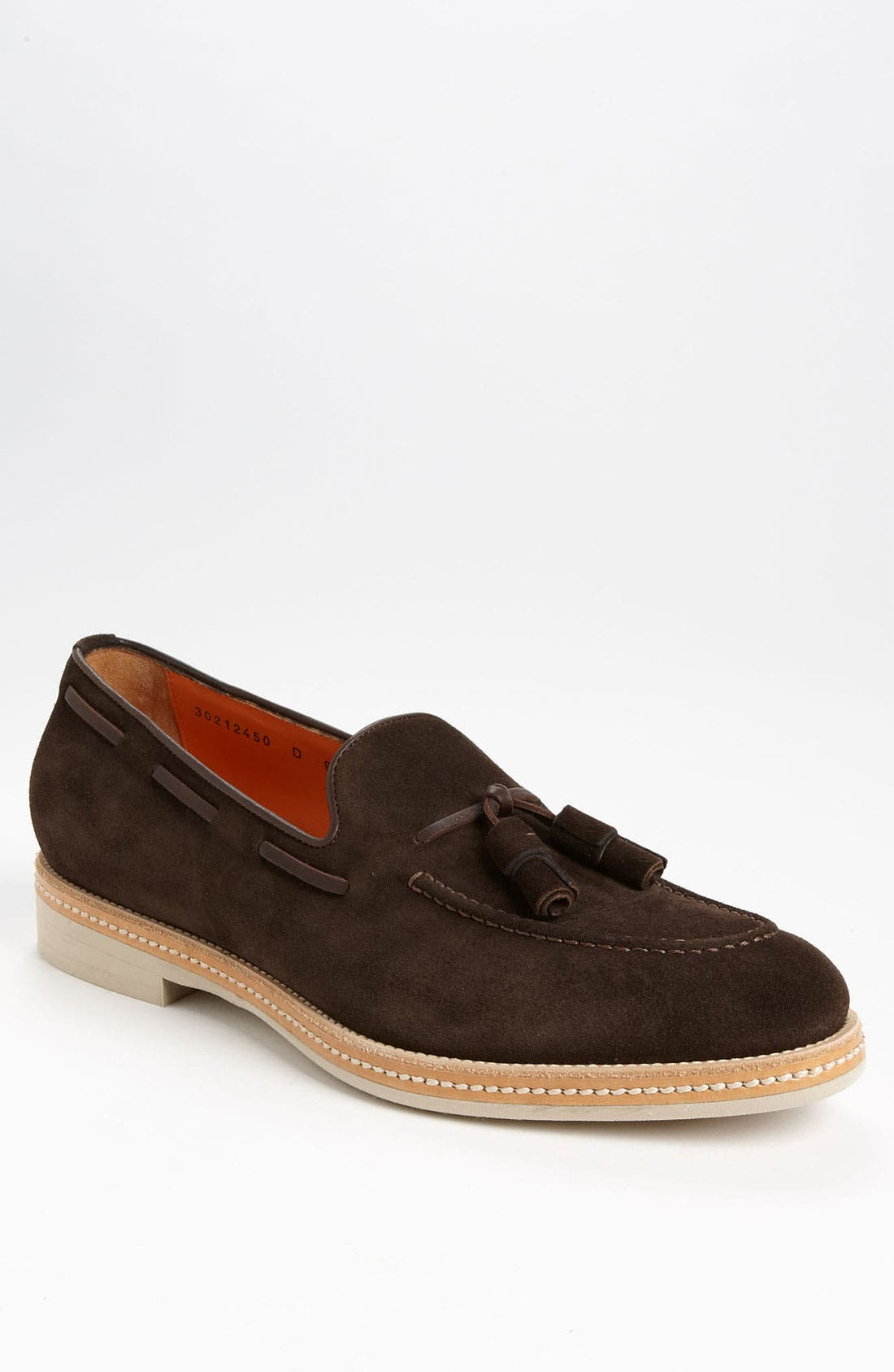 Alternate Image 1 Selected - Santoni 'Terry' Tassel Loafer