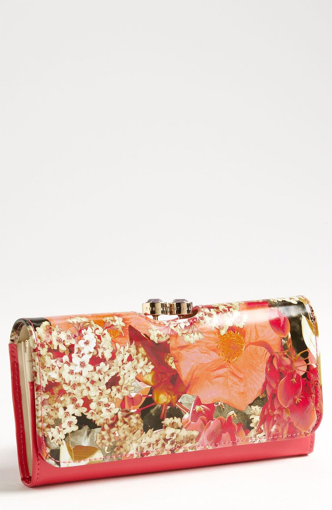 Main Image - Ted Baker London 'Digital Bloom Bobble' Matinee Wallet