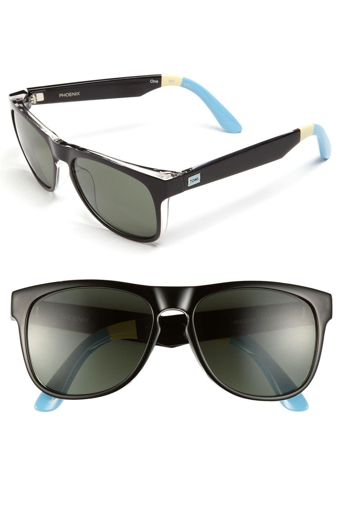 Main Image - TOMS 'Phoenix - Classic 106' 57mm Sunglasses