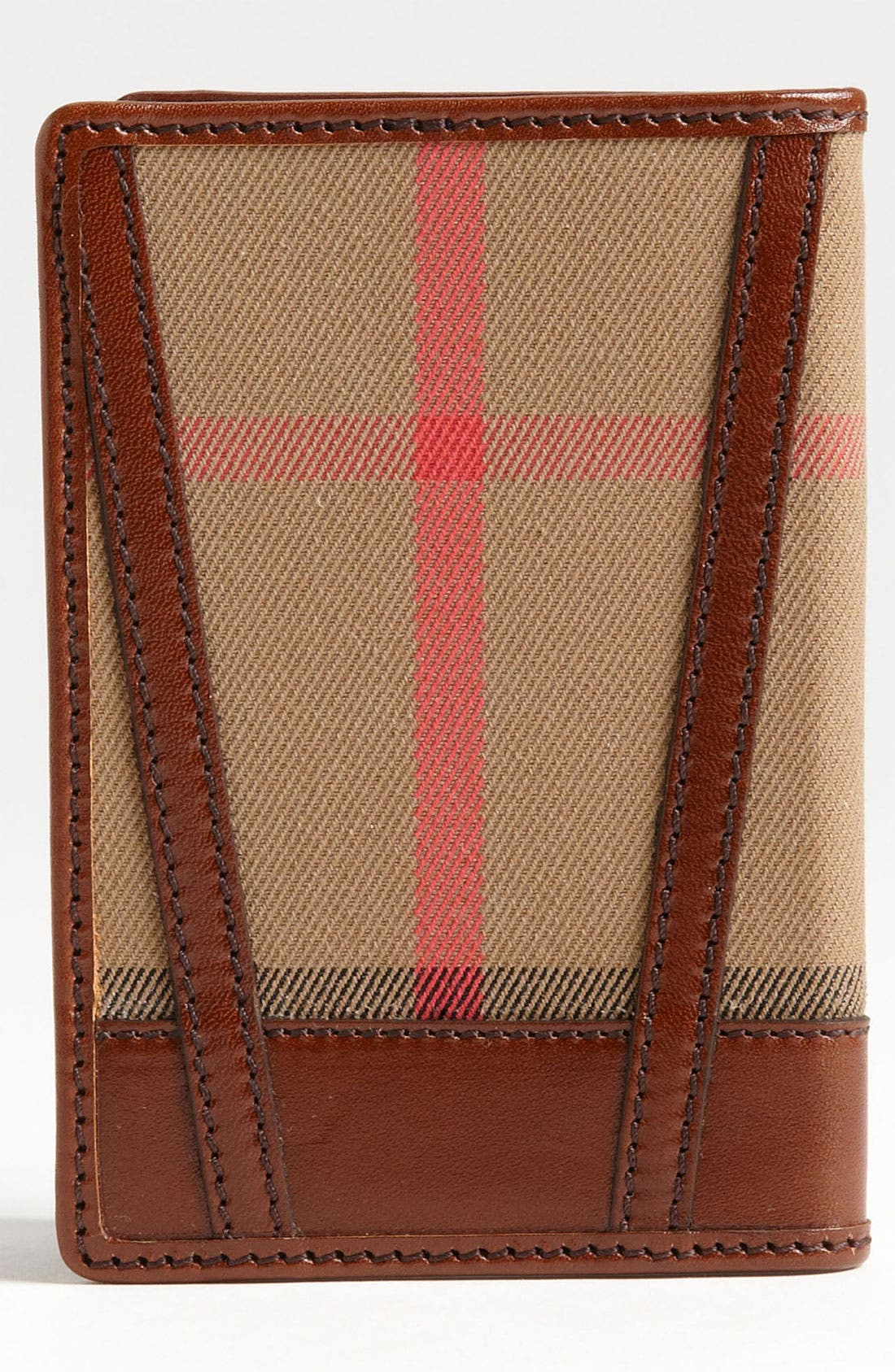 Alternate Image 4  - Burberry 'House Check' Passport Wallet