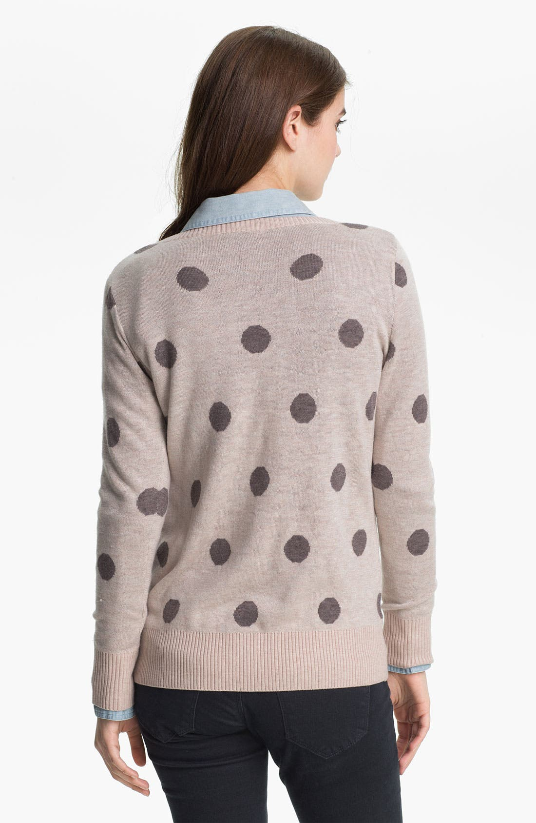 Alternate Image 2  - Max & Mia 'Big Dot' Sweater