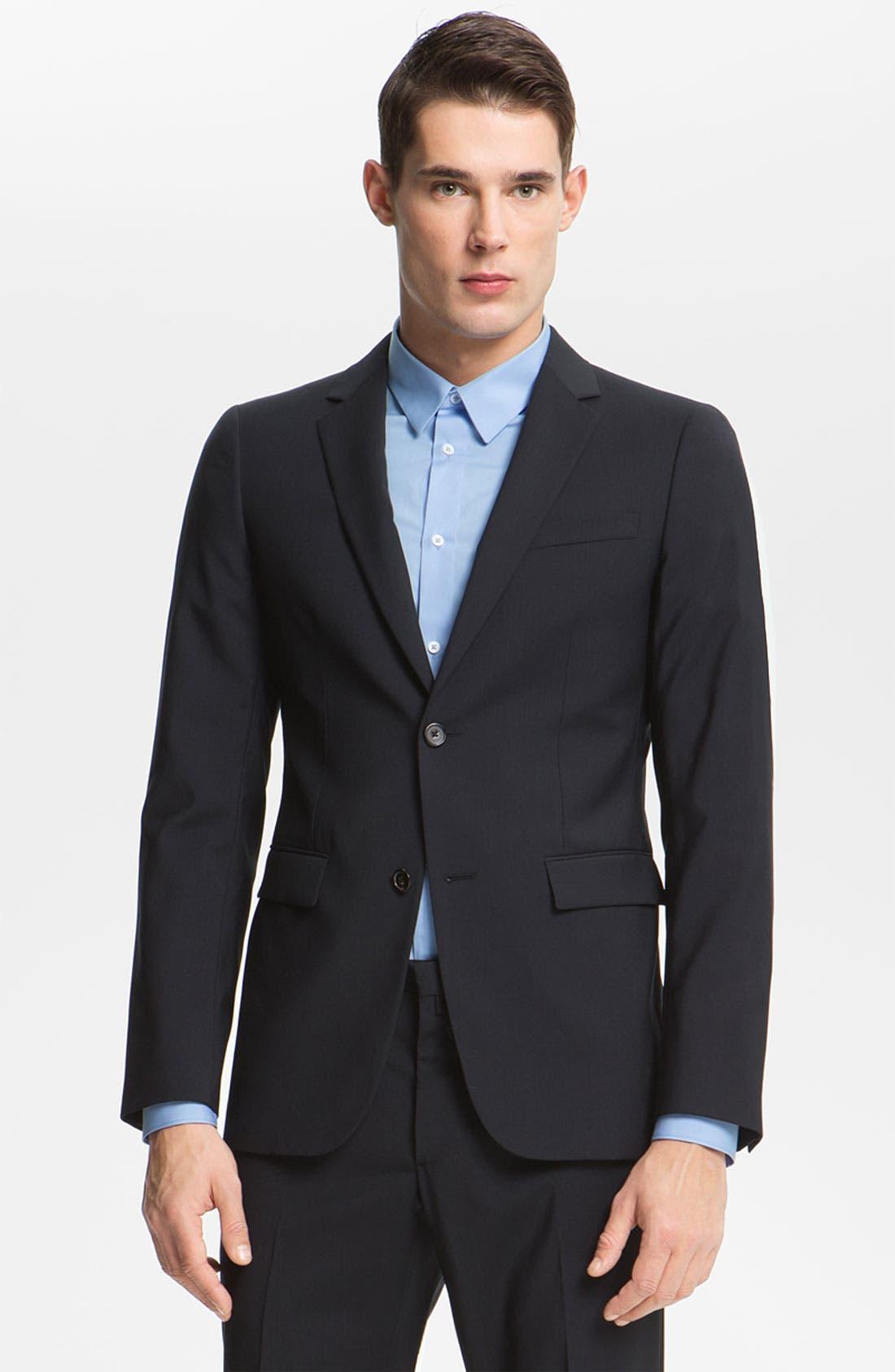 Alternate Image 1 Selected - Jil Sander Wool Suit