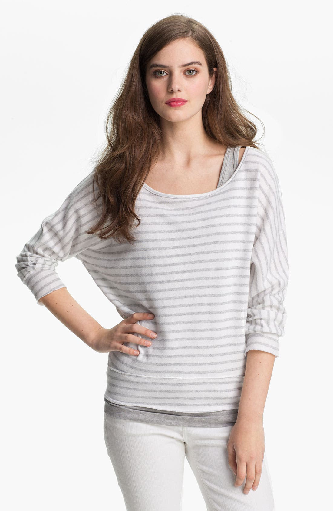 Main Image - KUT from the Kloth Scoop Neck Stripe Top