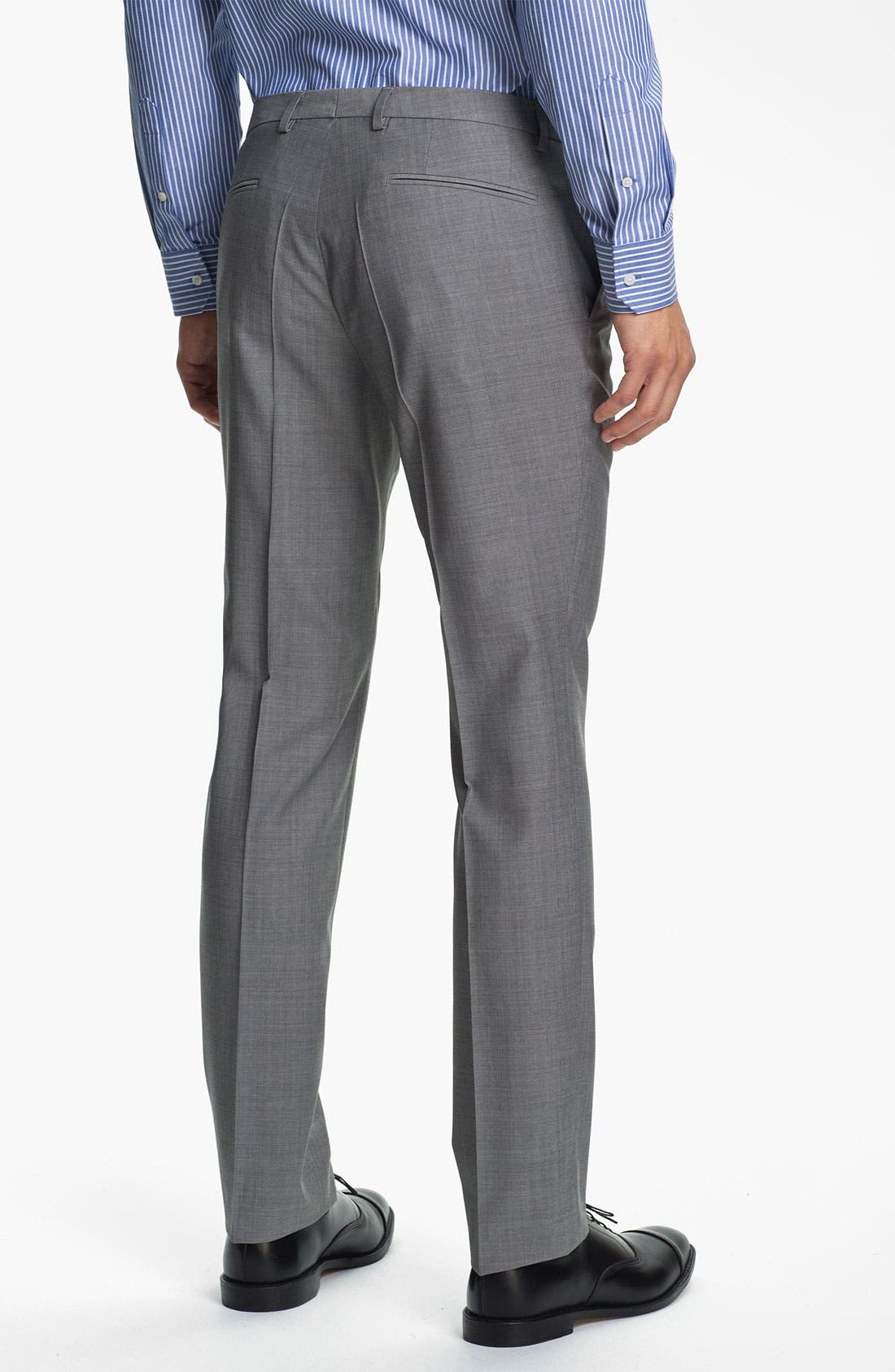 Alternate Image 5  - BOSS Black 'Ryan/Win' Extra Trim Fit Suit