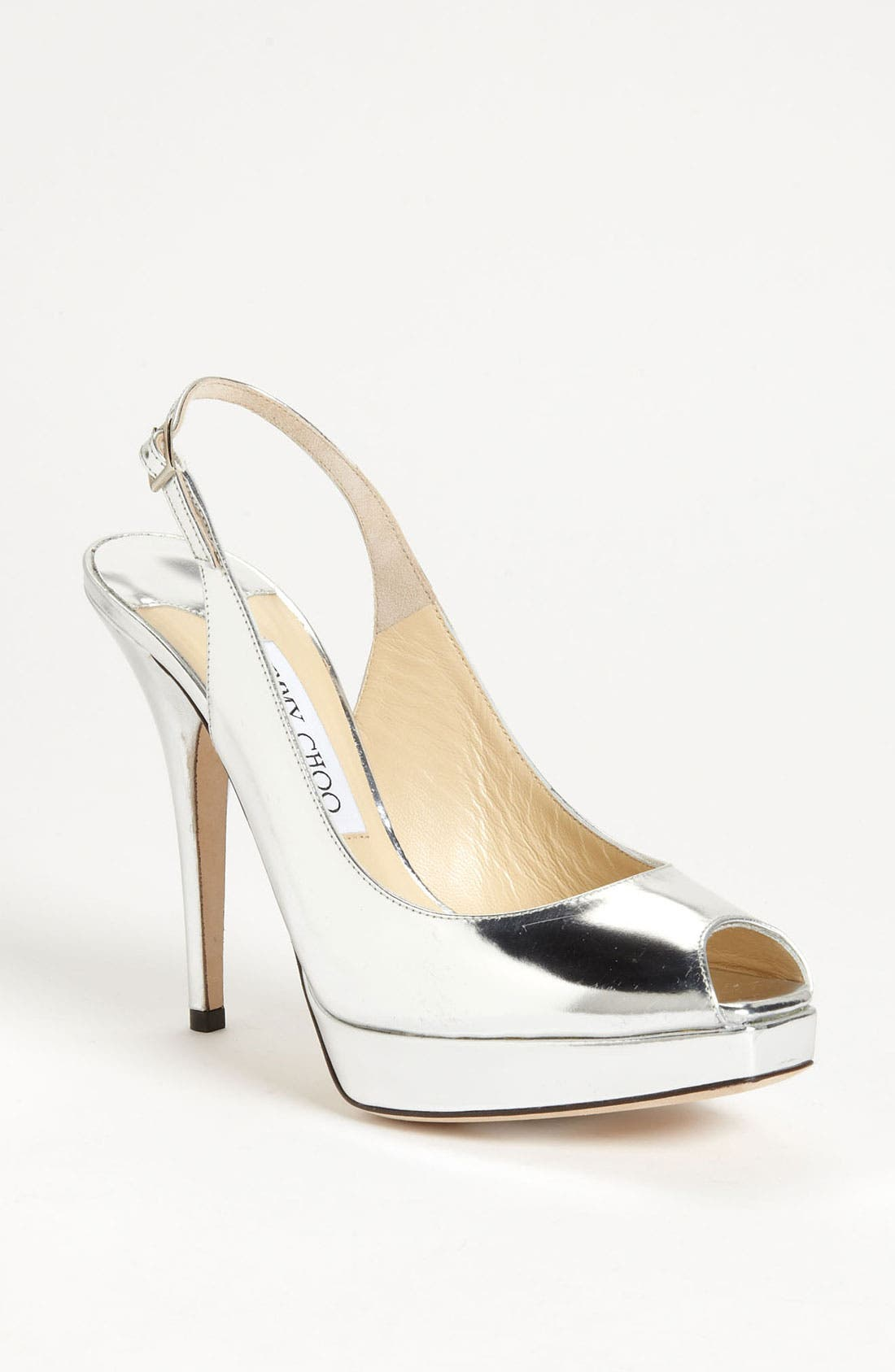 Alternate Image 1 Selected - Jimmy Choo 'Clue' Slingback Peep Toe Pump