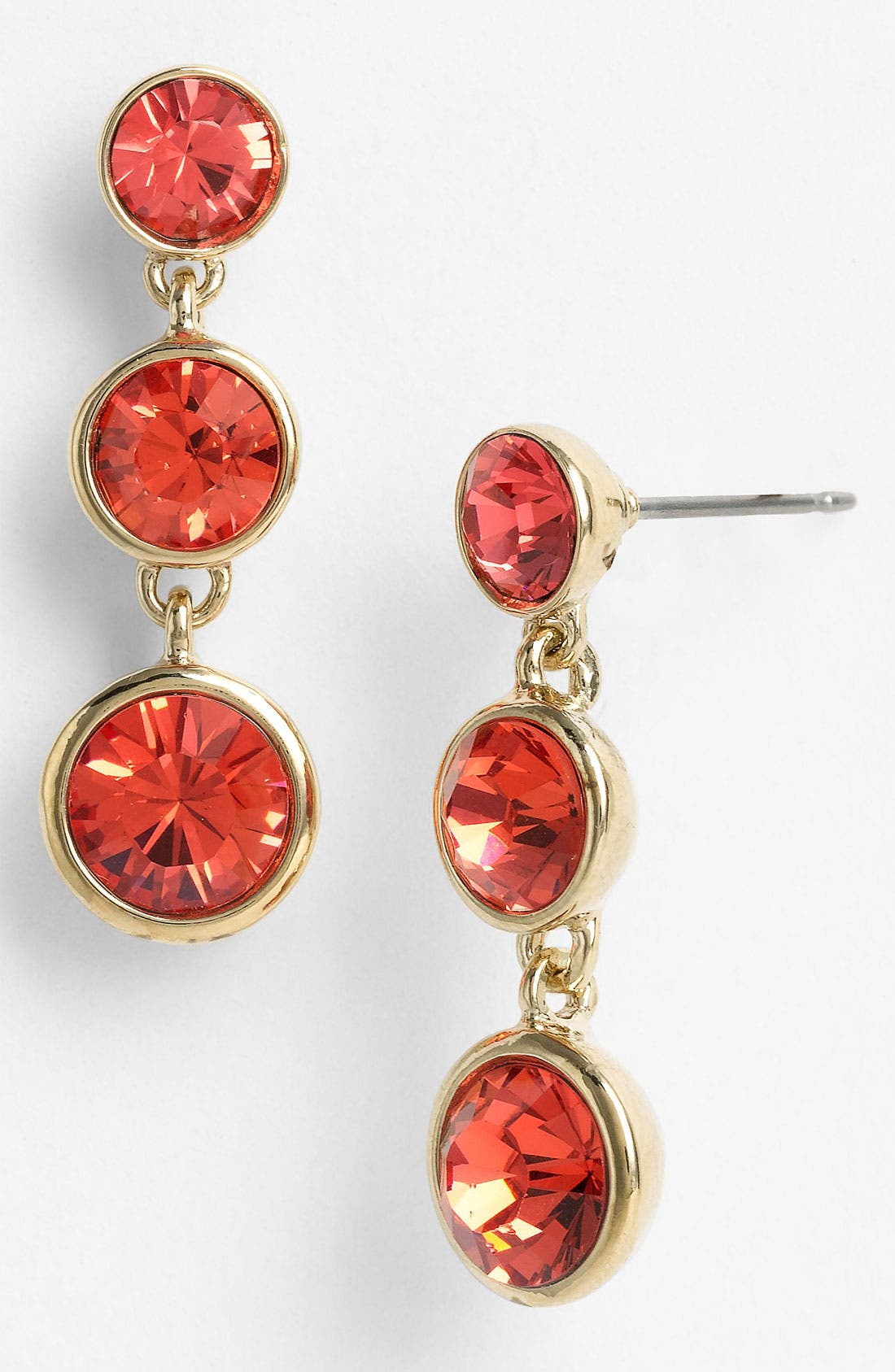 Main Image - Givenchy Triple Drop Crystal Earrings (Nordstrom Exclusive)