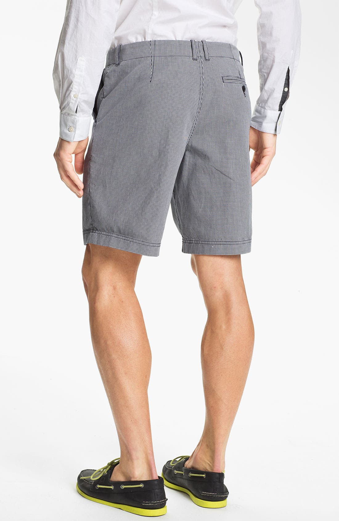 Alternate Image 4  - Fred Perry Flat Front Shorts