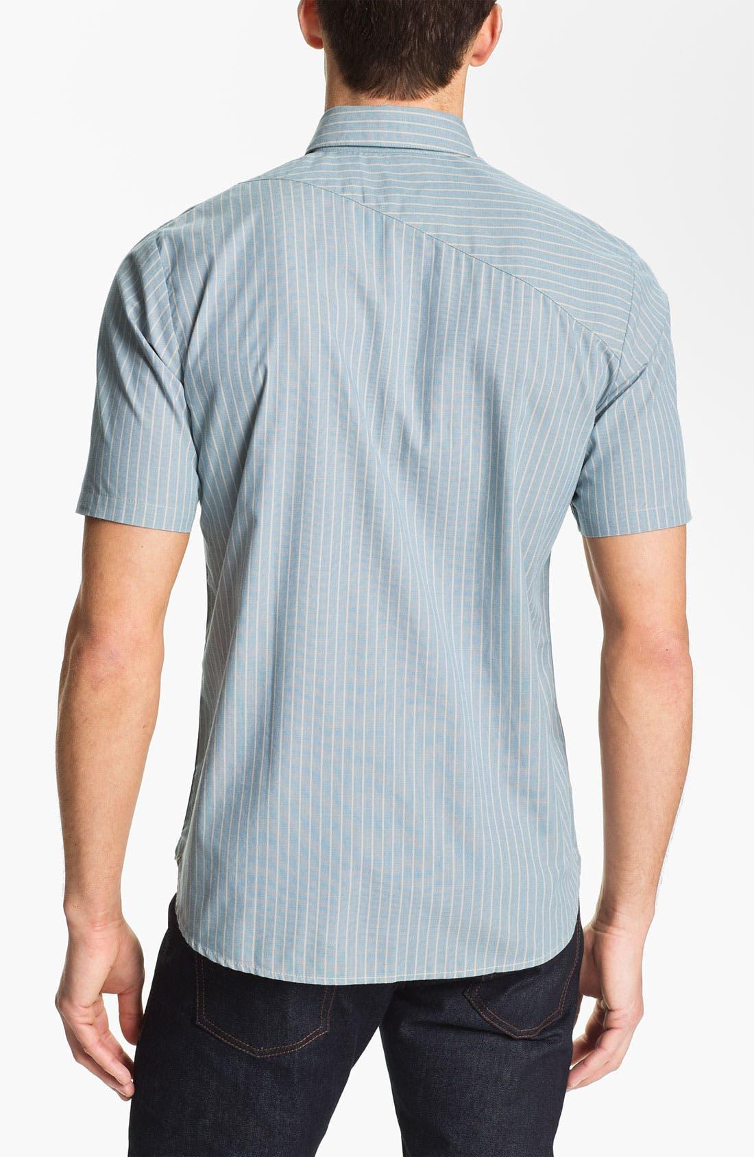 Alternate Image 2  - Volcom 'Why Factor' Stripe Woven Shirt