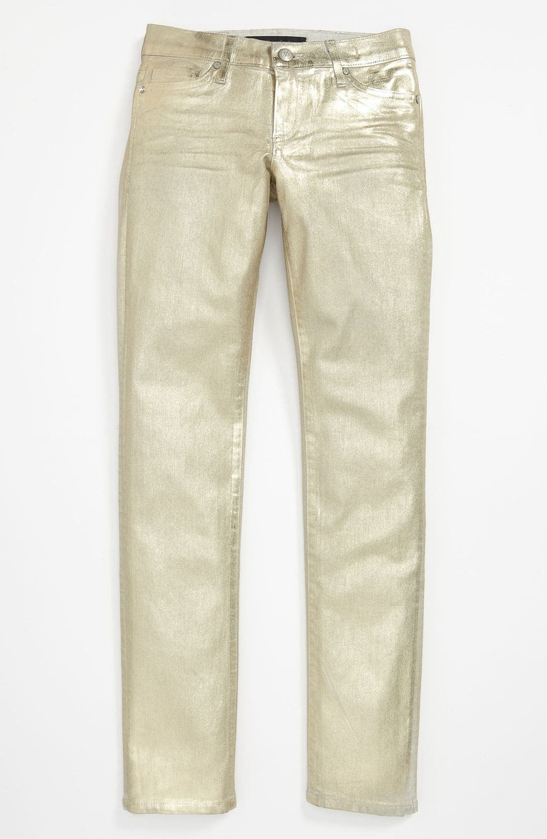Alternate Image 2  - Juicy Couture Metallic Skinny Pants (Little Girls & Big Girls)