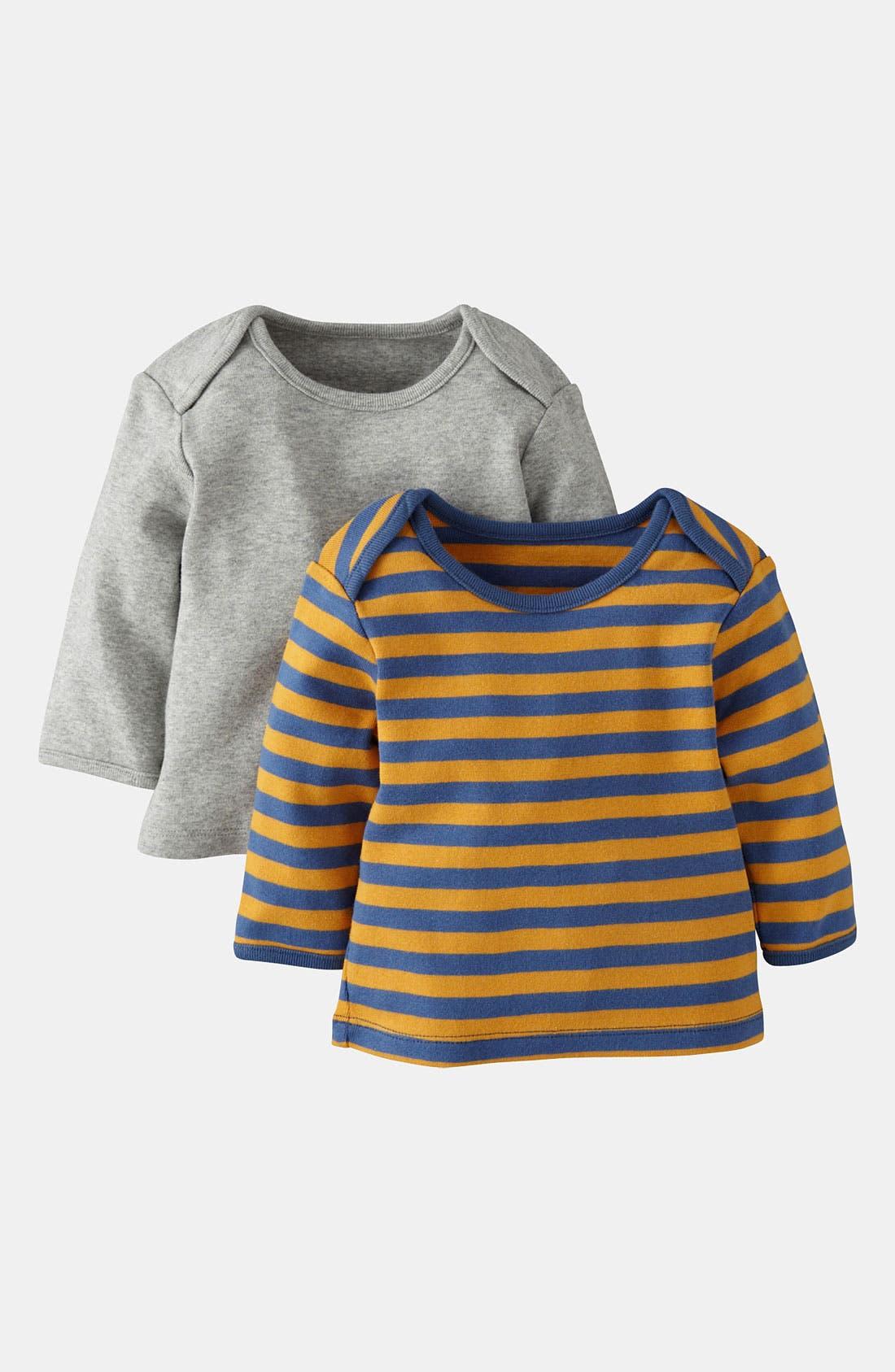 Main Image - Mini Boden Layering T-Shirt (2-Pack) (Baby)
