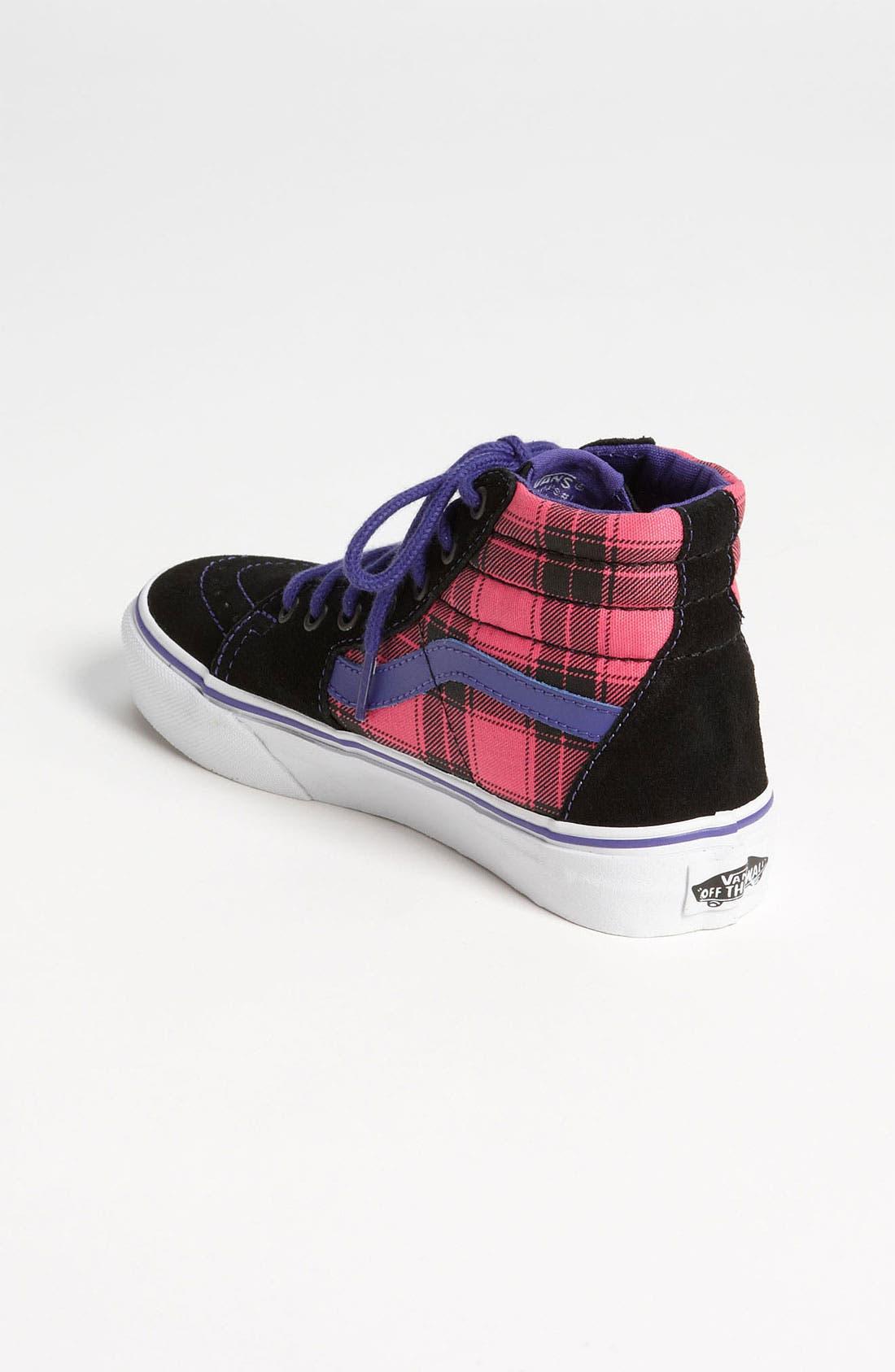 Alternate Image 2  - Vans 'SK8-Hi' Sneaker (Toddler, Little Kid & Big Kid)