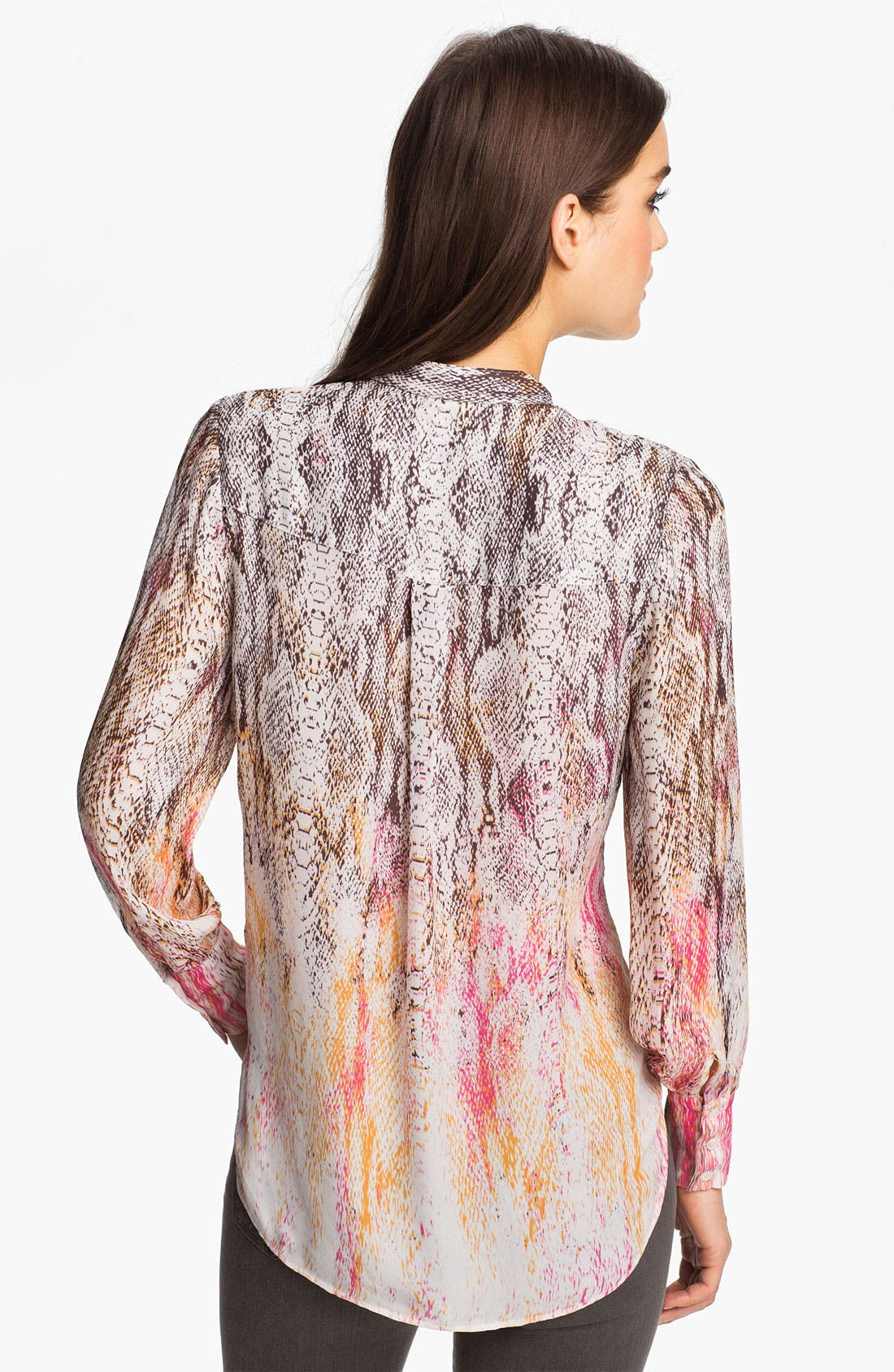 Alternate Image 2  - Haute Hippie Snake Print Silk Blouse