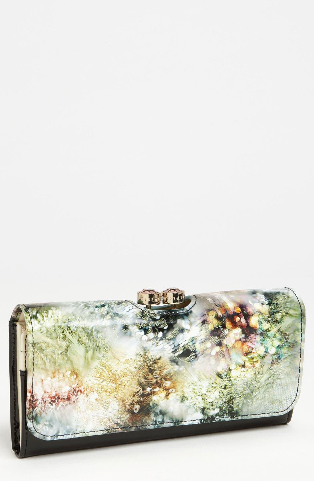 Alternate Image 1 Selected - Ted Baker London Sequin Print Wallet