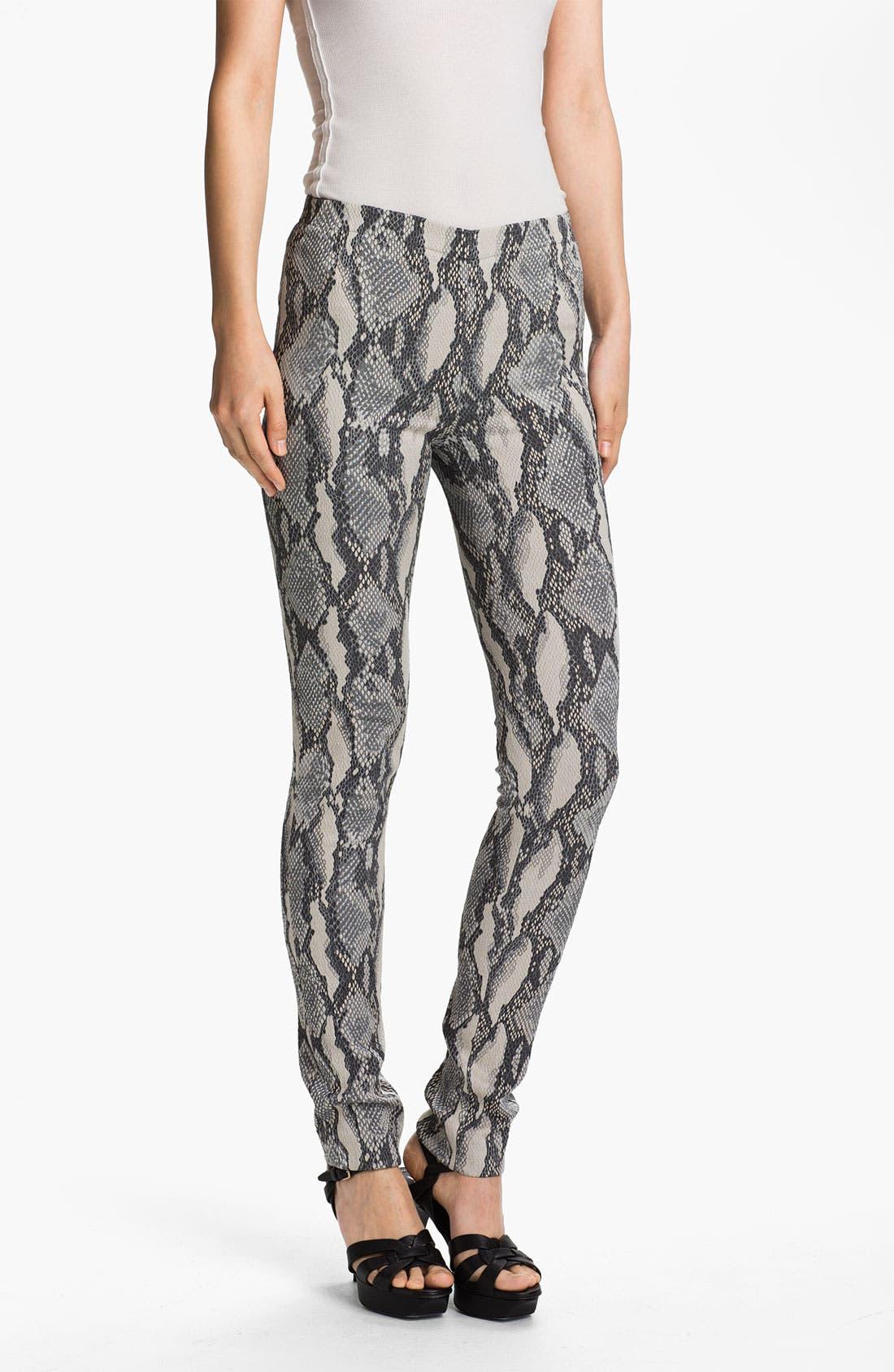 Alternate Image 1 Selected - Zadig & Voltaire Snake Print Pants