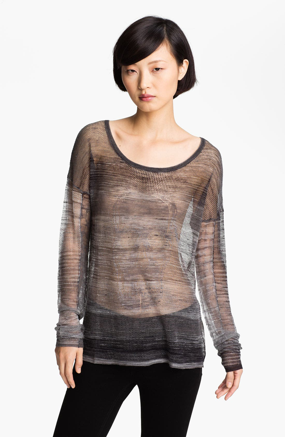 Alternate Image 1 Selected - Zadig & Voltaire 'Box' Sheer Sweater