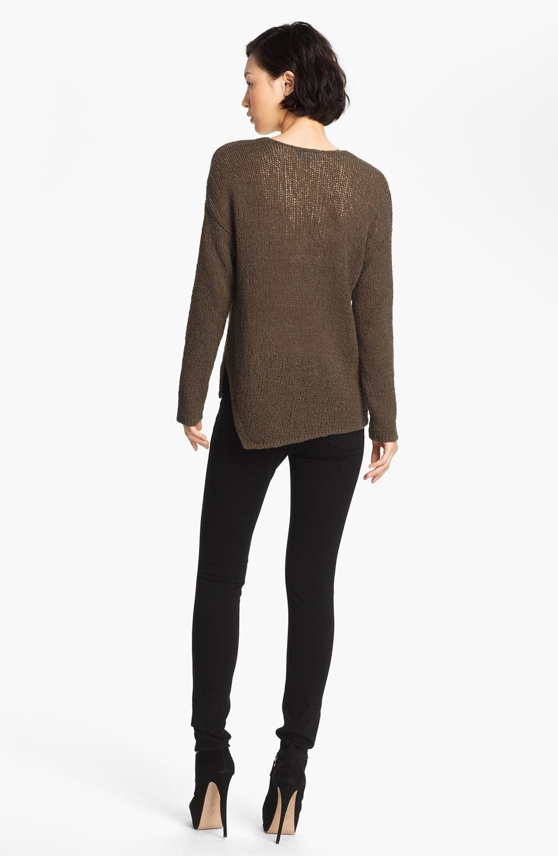 Alternate Image 2  - HELMUT Helmut Lang Asymmetrical Pullover Sweater