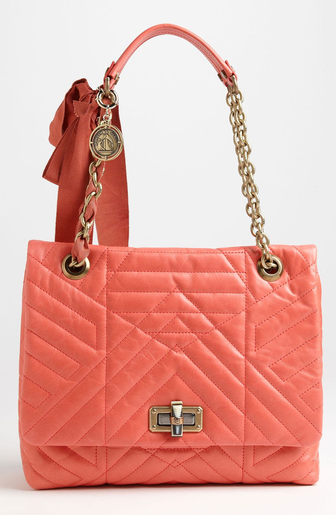 Main Image - Lanvin 'Happy' Quilted Leather Shoulder Bag