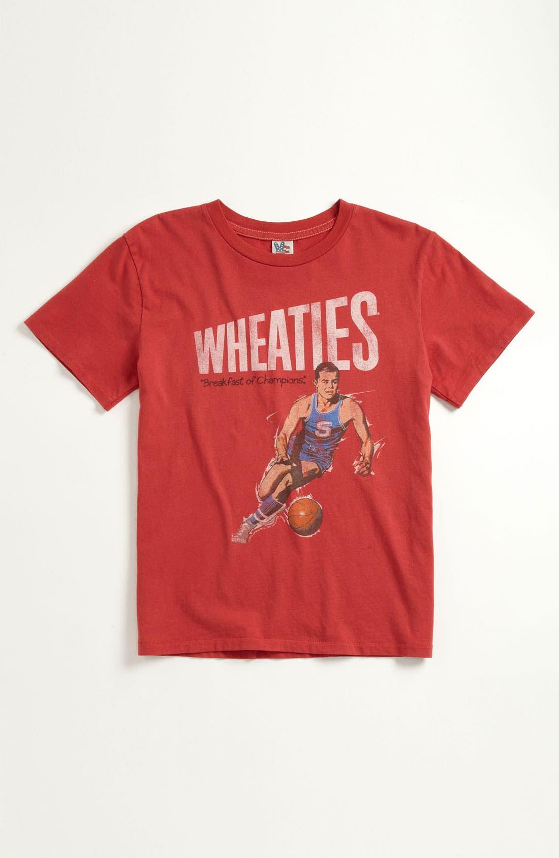 Alternate Image 1 Selected - Junk Food 'Wheaties' T-Shirt (Little Boys & Big Boys)