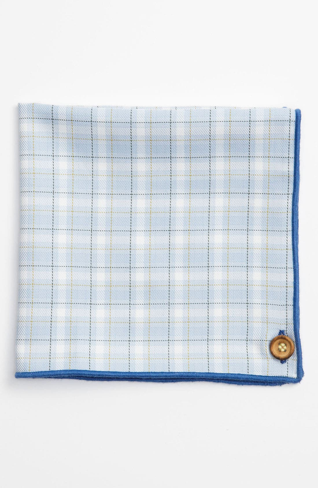 Main Image - Armstrong & Wilson Cotton Pocket Square (Online Only)