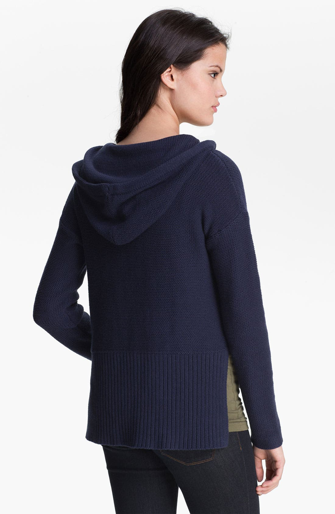 Alternate Image 2  - Two by Vince Camuto Hoodie Sweater