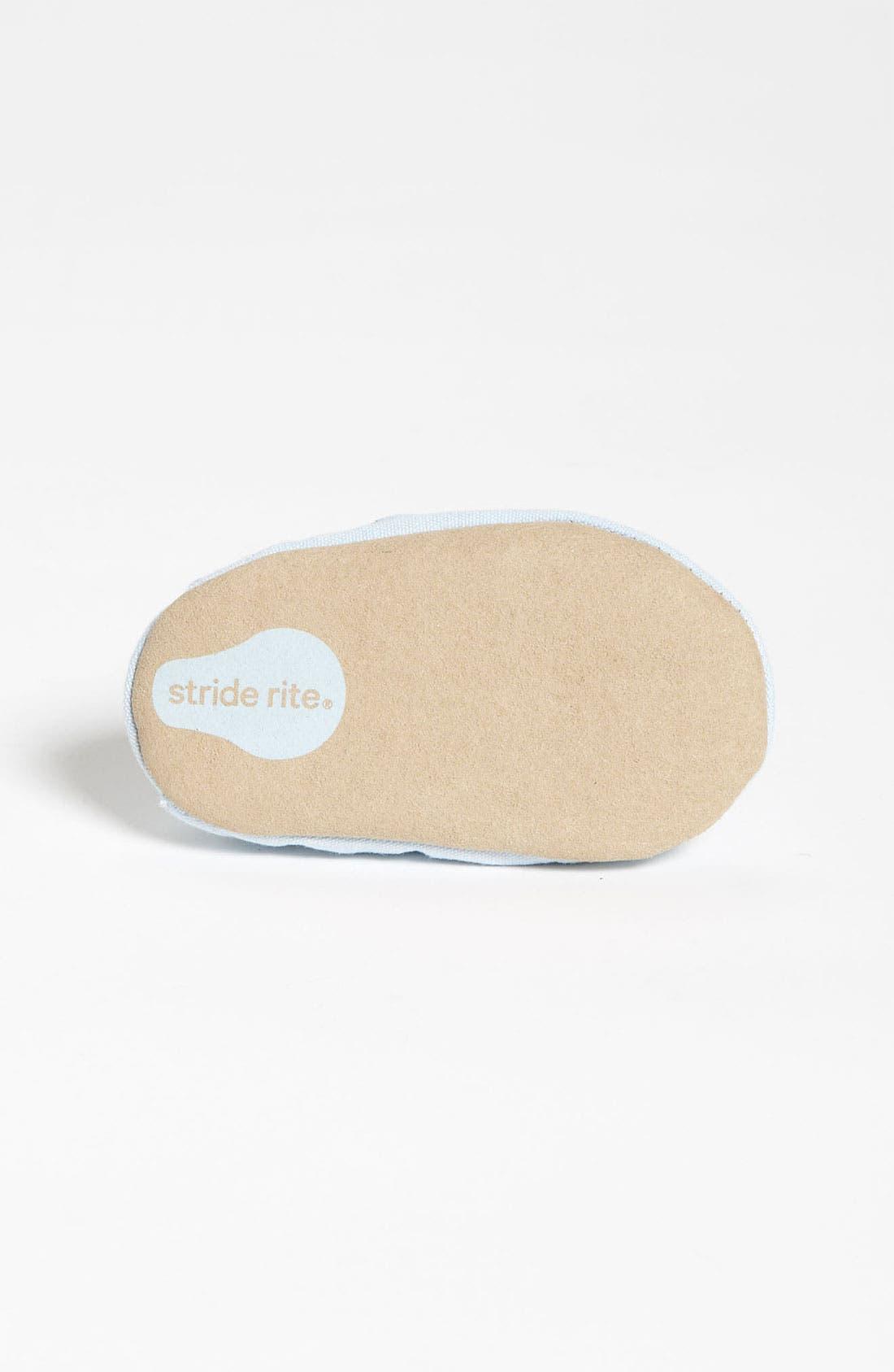 Alternate Image 4  - Stride Rite 'Blue Dream' Crib Shoe (Baby)