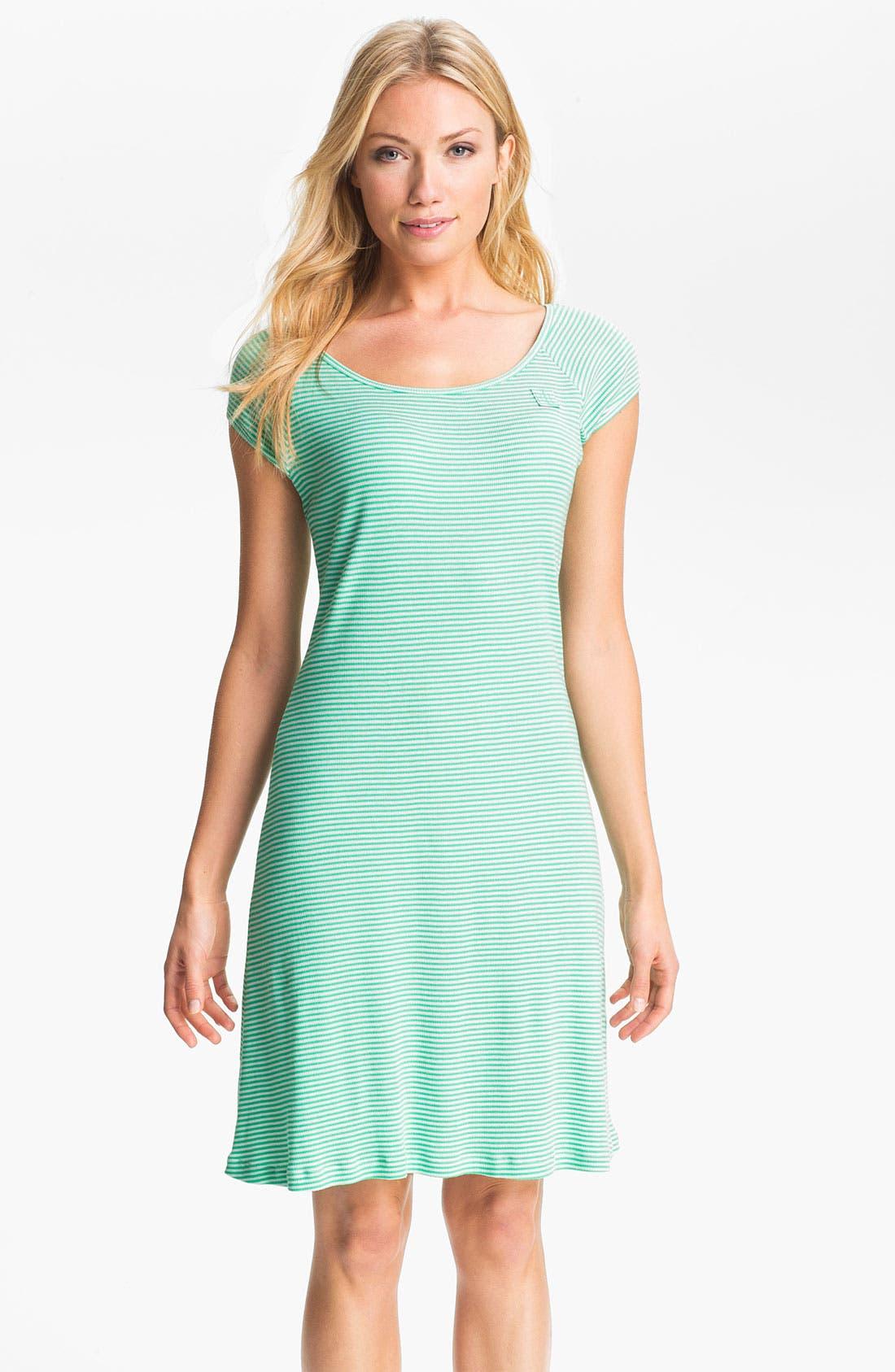 Alternate Image 1 Selected - Lauren Ralph Lauren Stripe Sleep Shirt