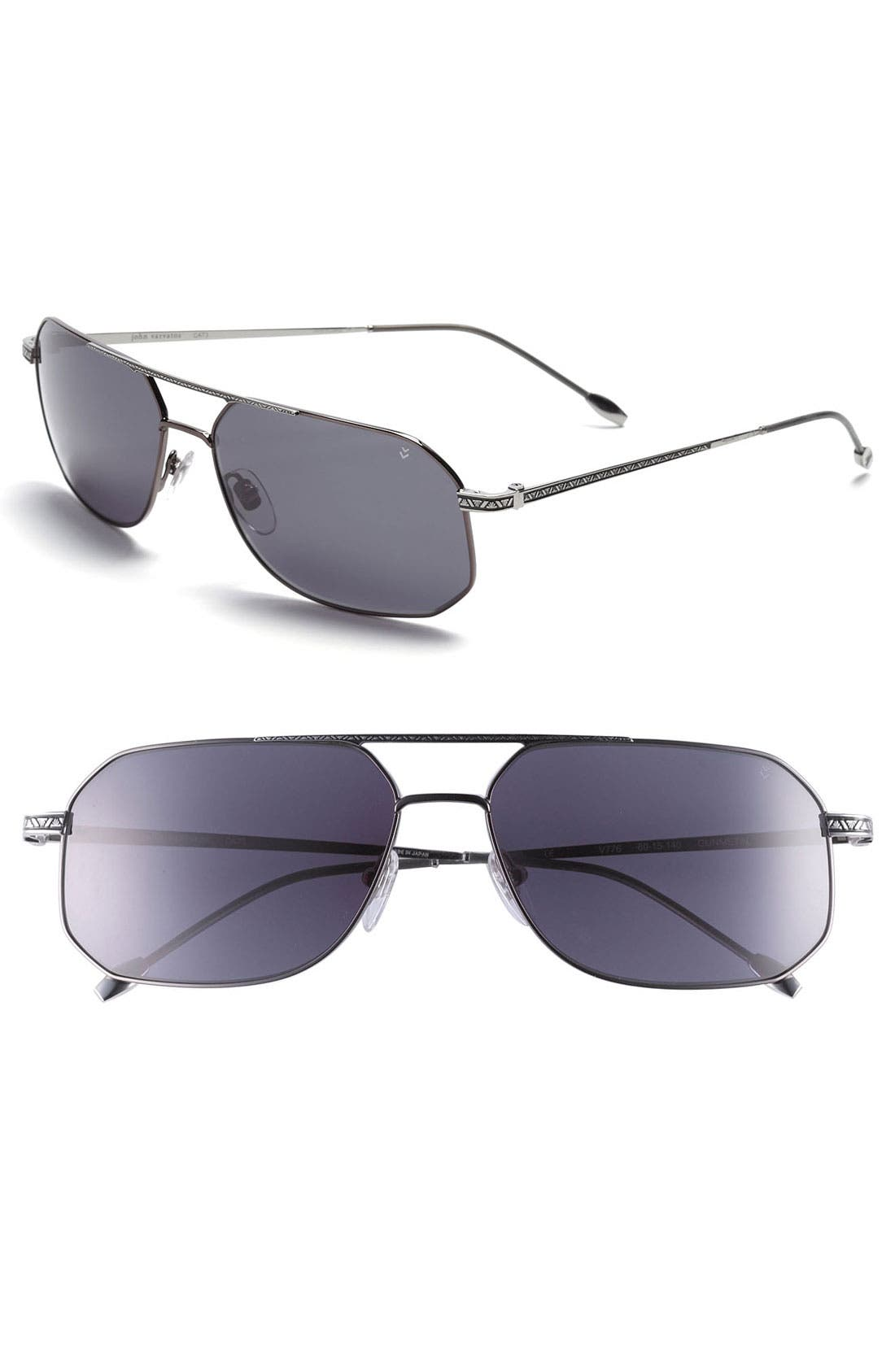 Alternate Image 1 Selected - John Varvatos Collection 60mm Sunglasses