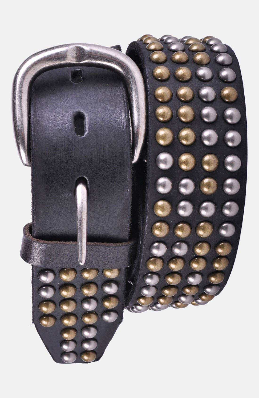Alternate Image 1 Selected - Bed Stu 'Costello' Studded Leather Belt