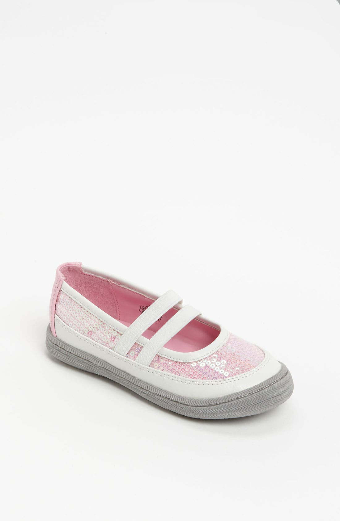 Main Image - Enzo 'Celia' Mary Jane Sneaker (Toddler)