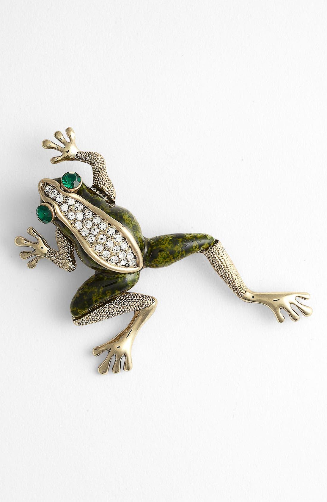 Alternate Image 1 Selected - Tasha 'Critters' Frog Brooch