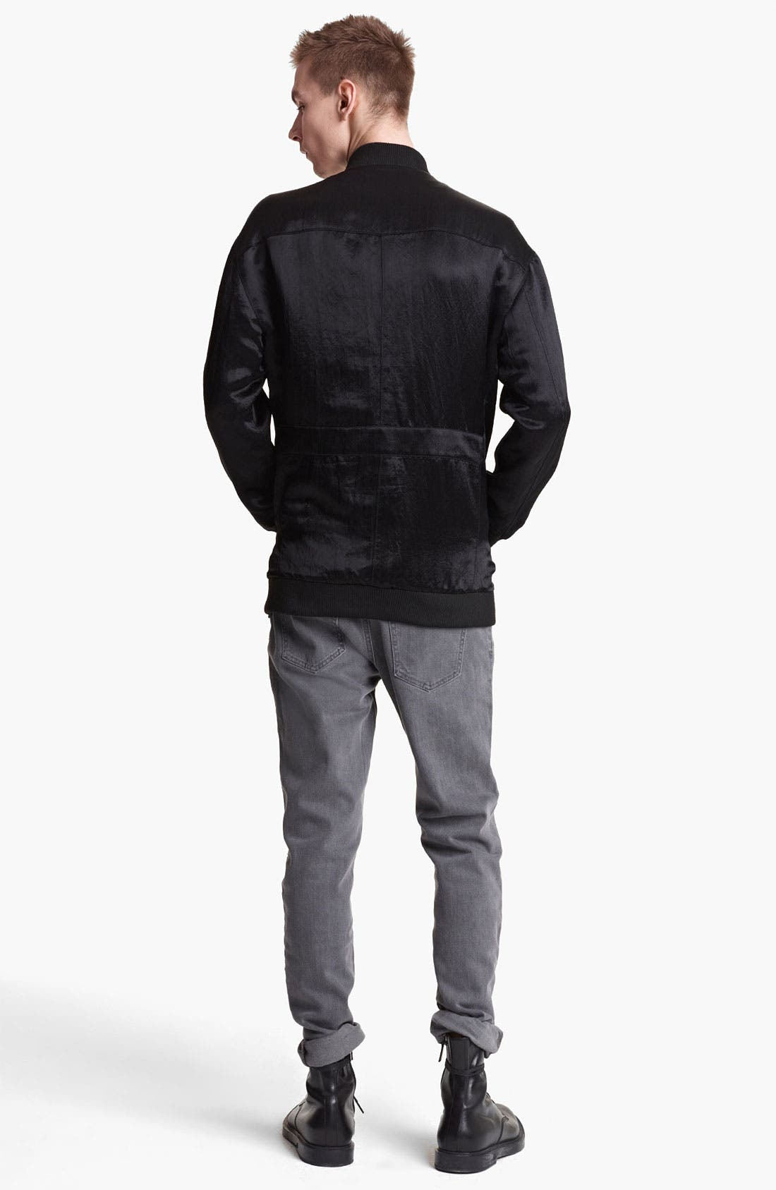Alternate Image 5  - BLK DNM Nylon Bomber Jacket
