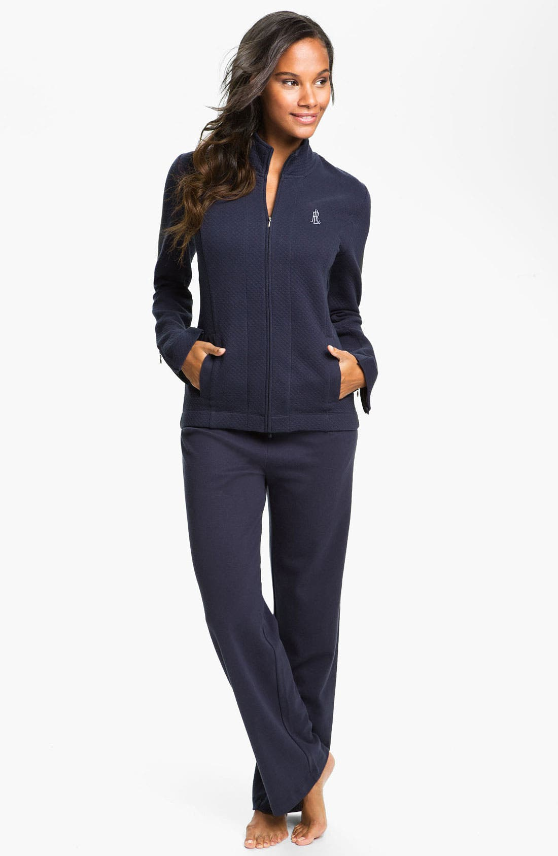 Alternate Image 5  - Lauren Ralph Lauren Sleepwear Lounge Pants