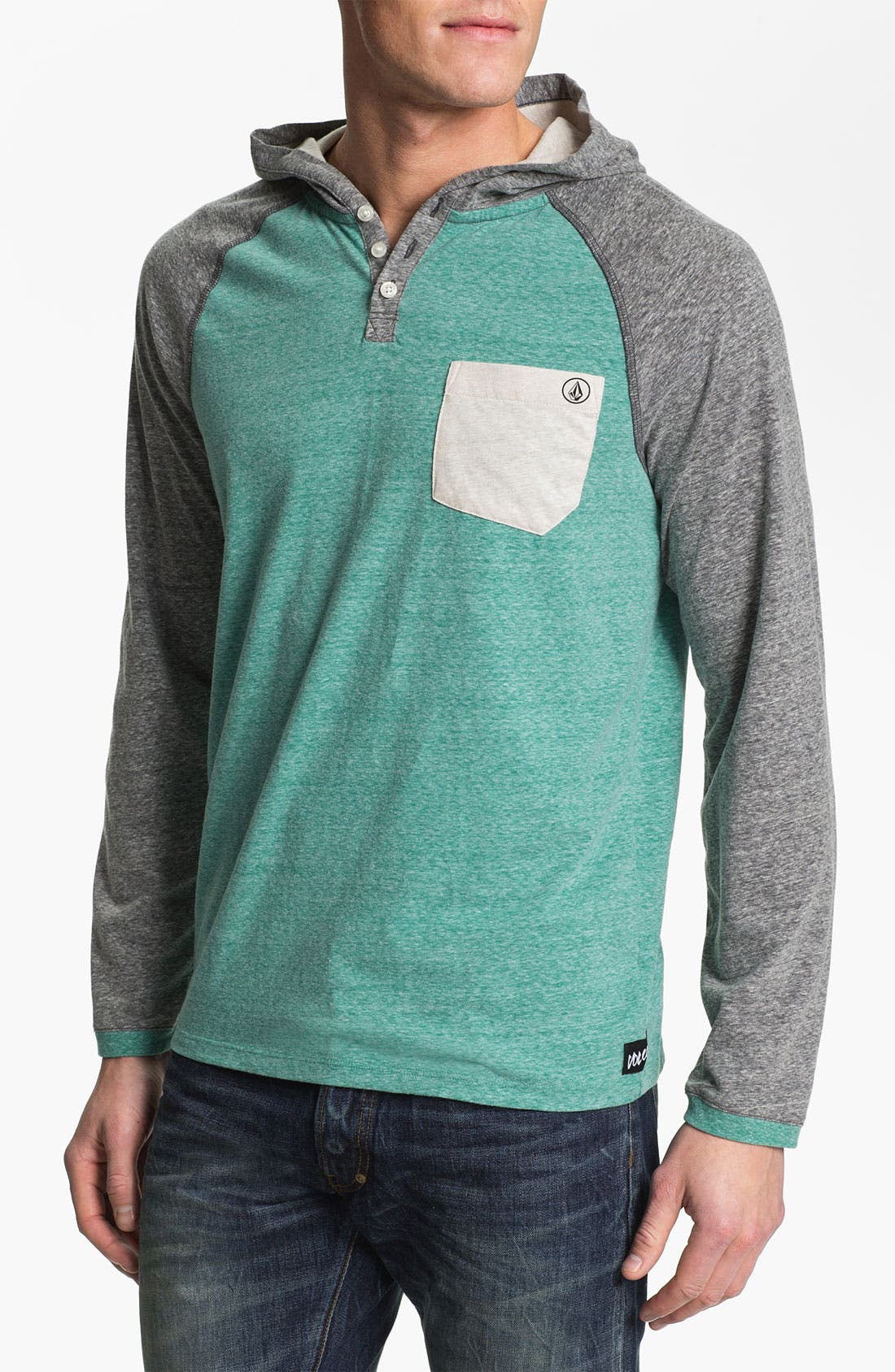 Alternate Image 1 Selected - Volcom 'Tempest' Hooded Henley