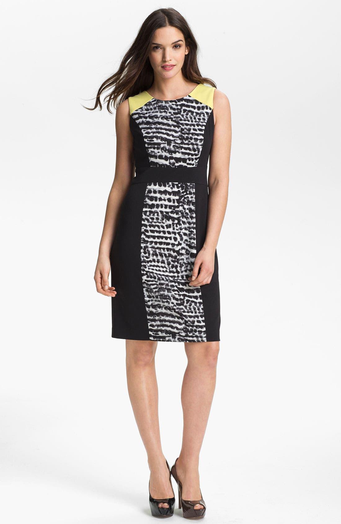 Alternate Image 1 Selected - Calvin Klein Sleeveless Dress