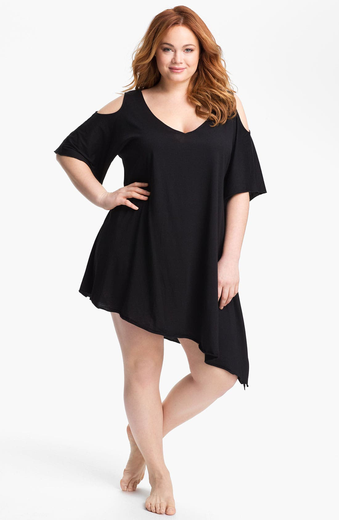 Alternate Image 1 Selected - Becca Etc. 'Sanctuary' Cover-Up (Plus Size)