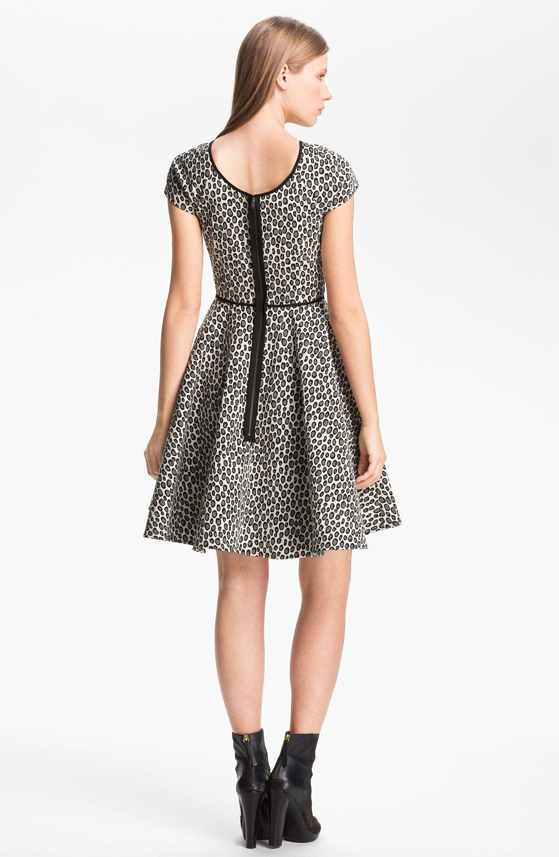 Alternate Image 2  - Rachel Zoe 'Iryna' Print Flare Dress