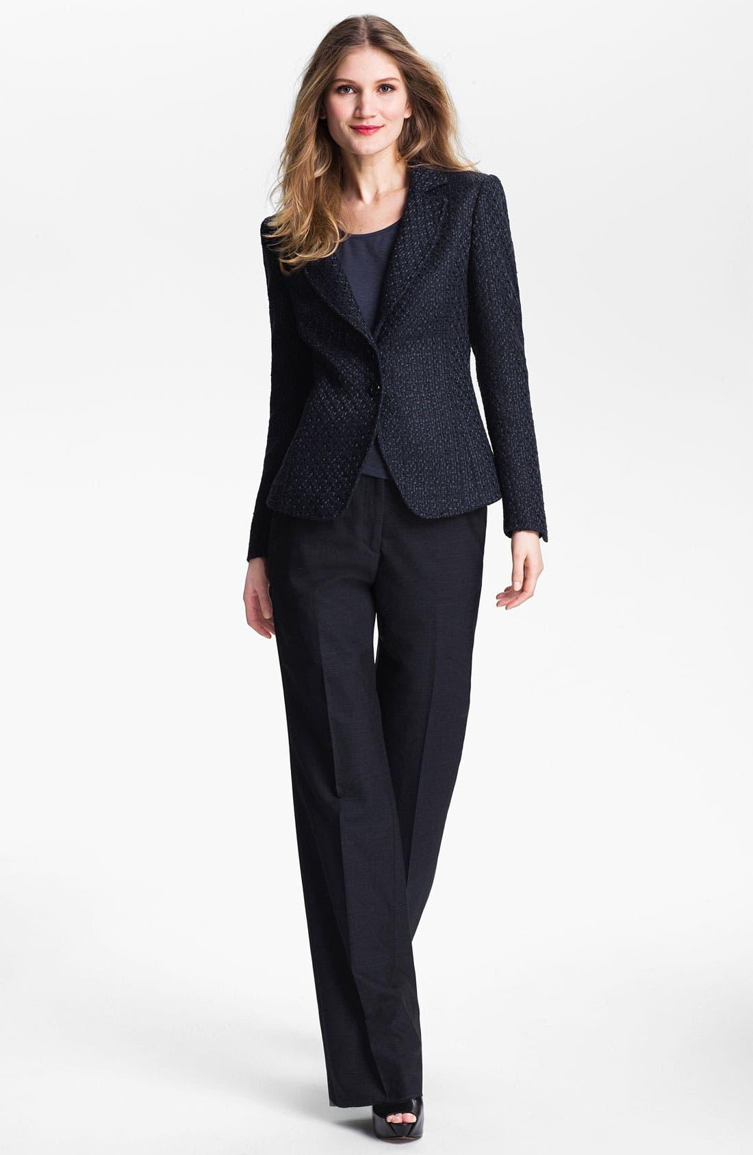 Alternate Image 4  - Santorelli 'Kristina 2' Tweed Jacket