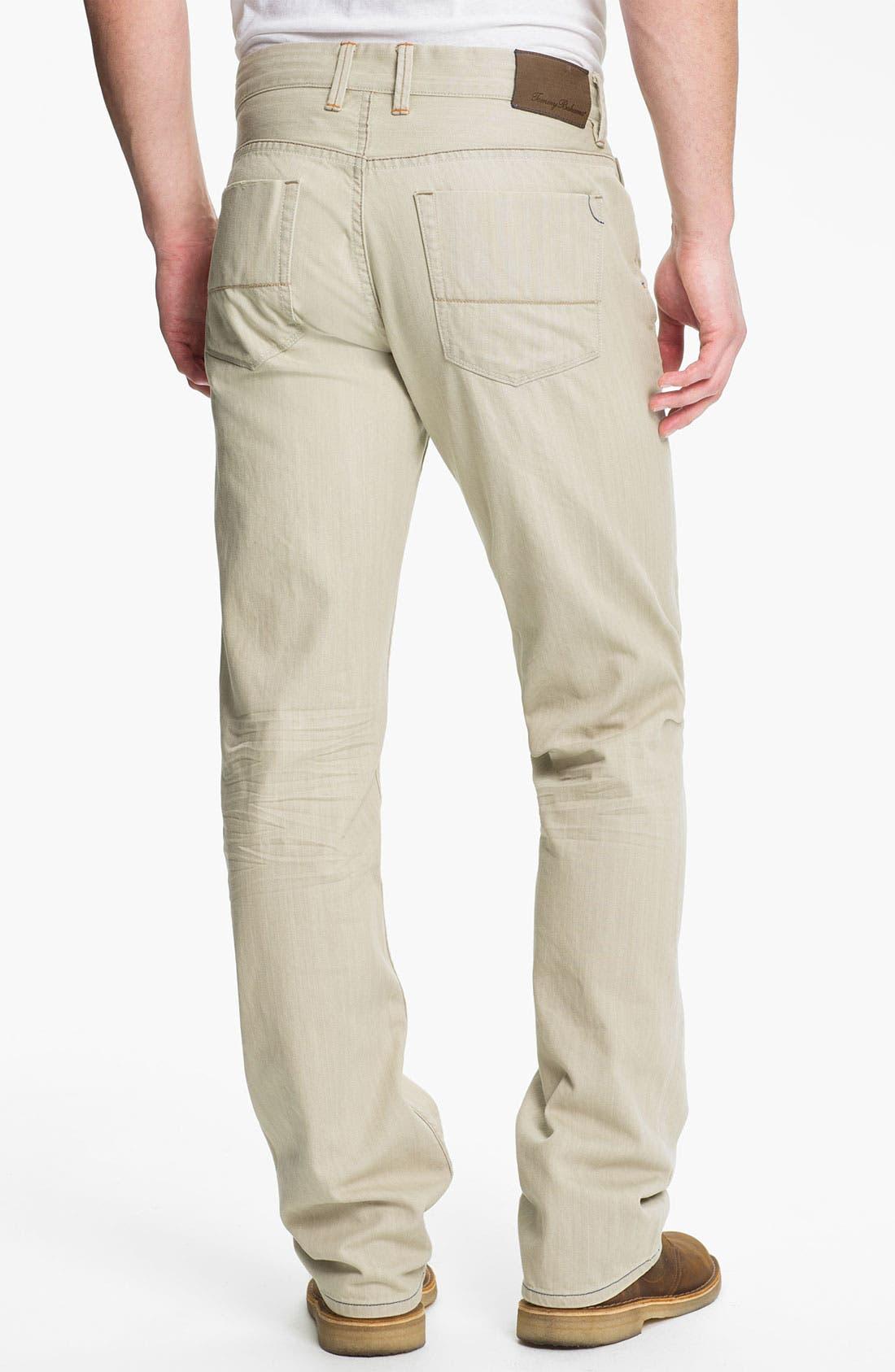 Alternate Image 2  - Tommy Bahama Denim 'Zander' Authentic Straight Leg Jeans