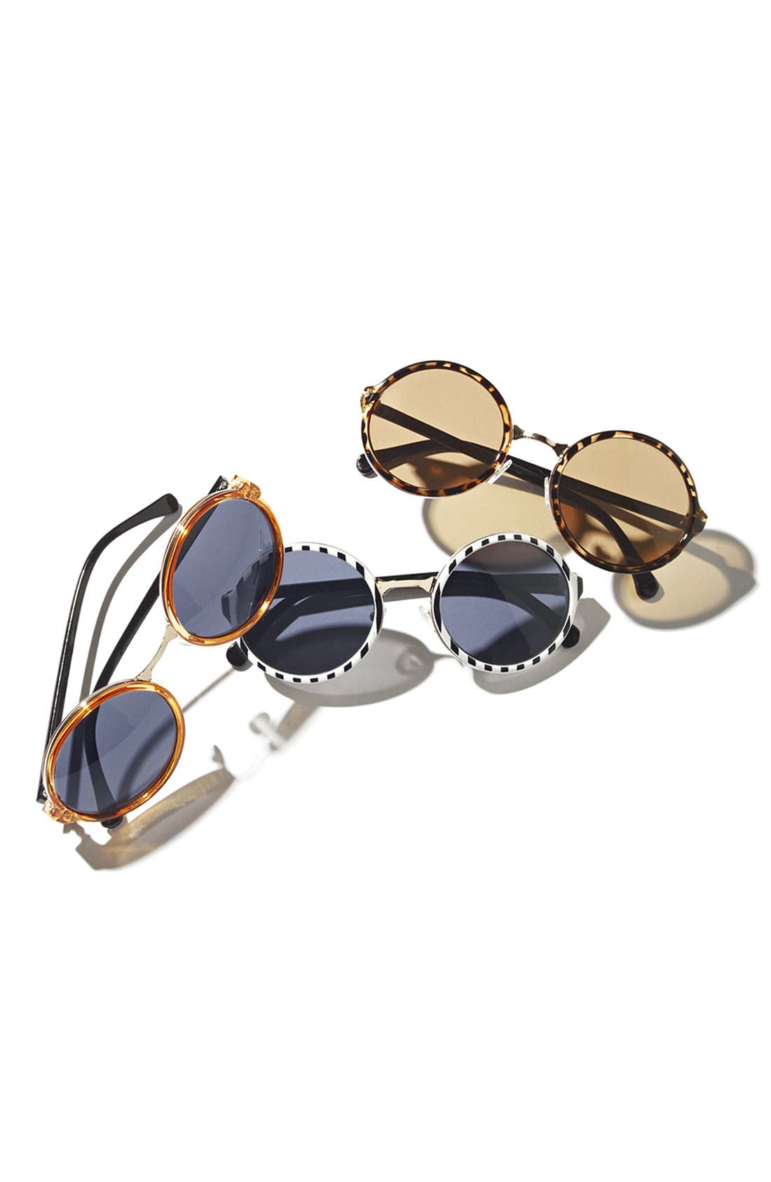 Alternate Image 3  - A.J. Morgan 52mm Retro Round Sunglasses