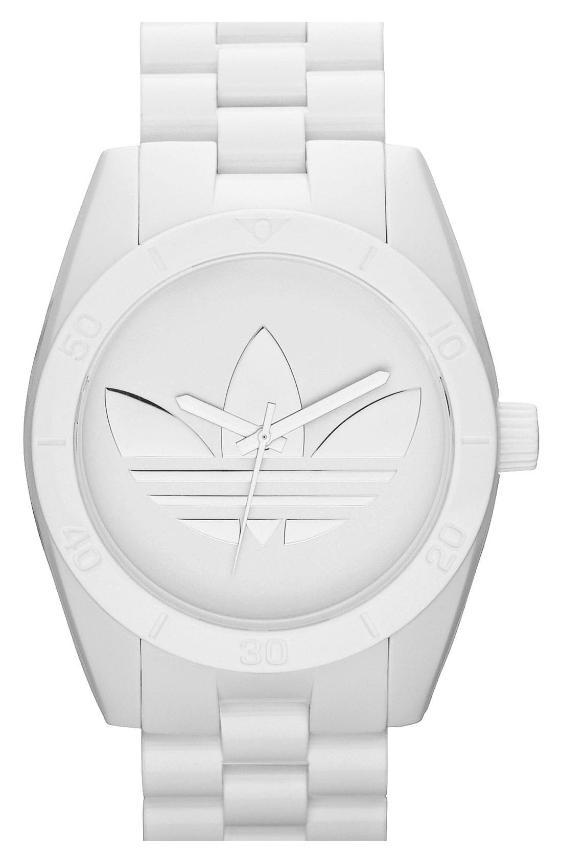 Alternate Image 1 Selected - adidas Originals 'Santiago' Bracelet Watch