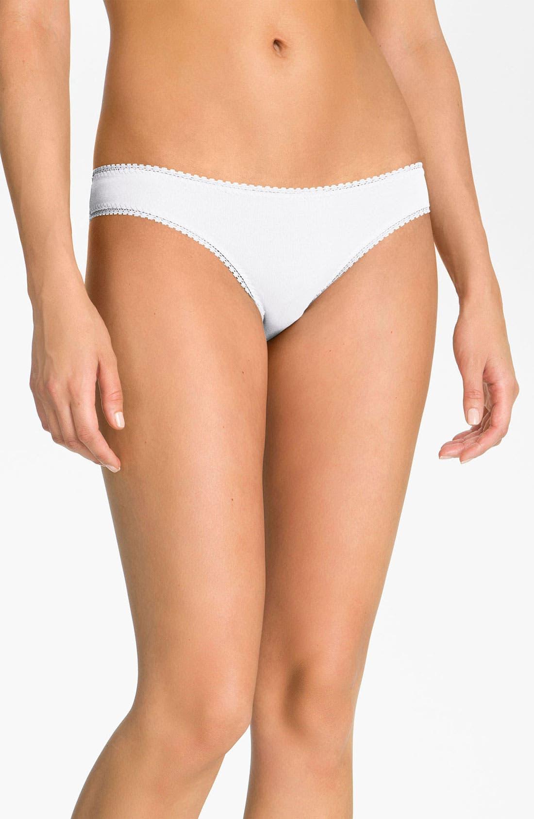 Alternate Image 1 Selected - On Gossamer 'Cabana' Cotton Bikini