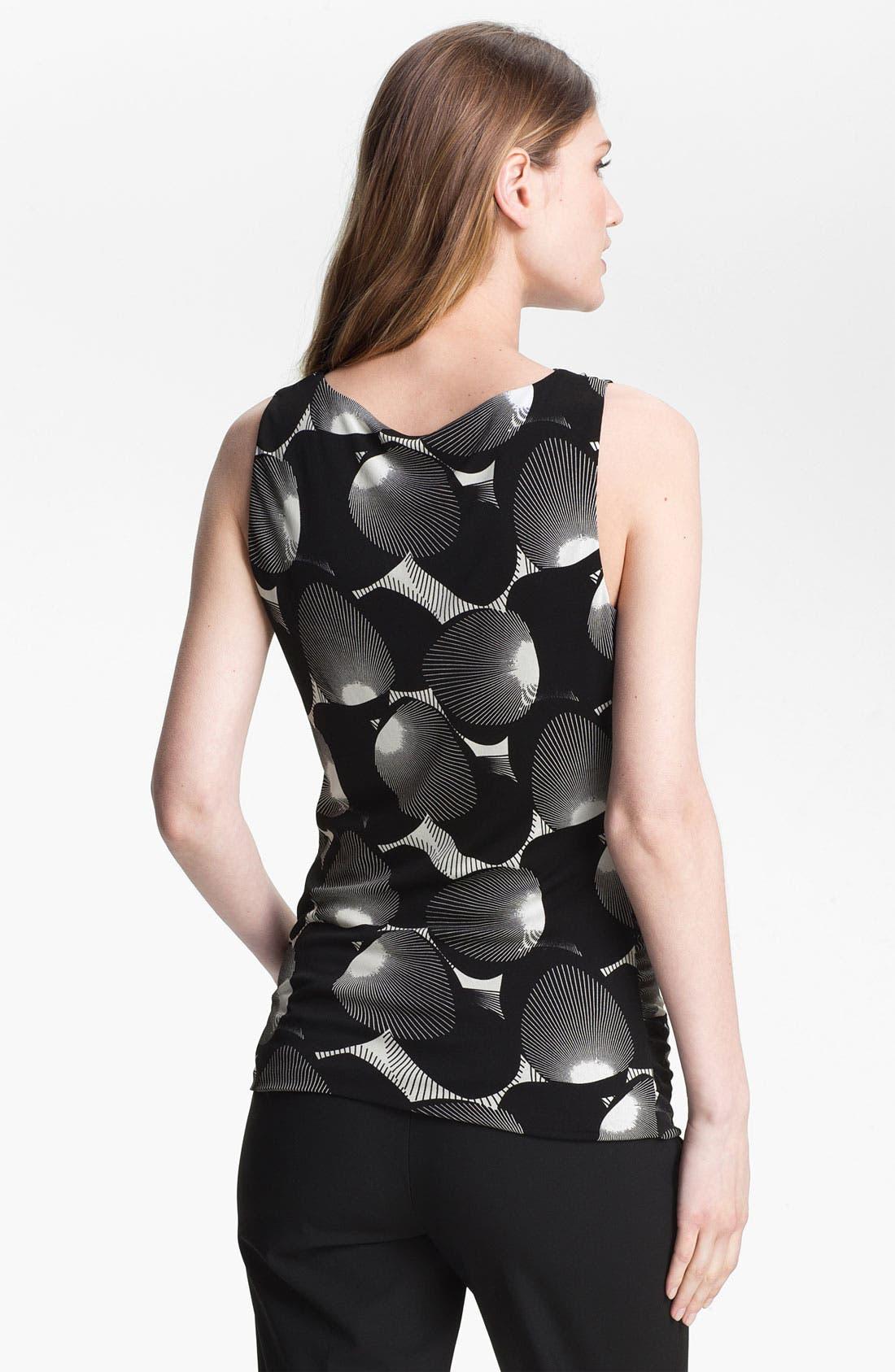 Alternate Image 2  - Classiques Entier® Print Silk Jersey Top