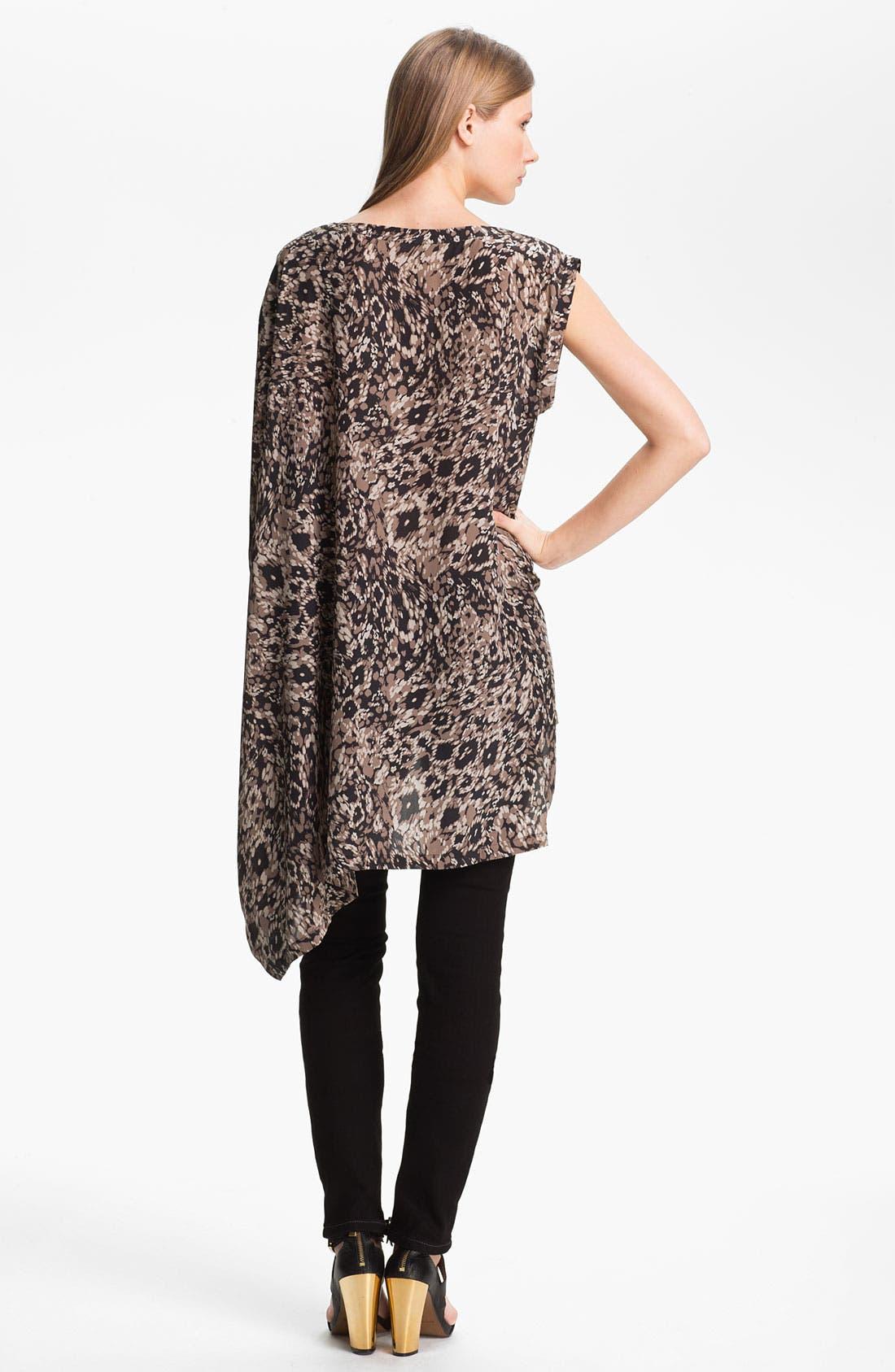 Alternate Image 2  - Rachel Zoe 'Graham' Drape Sleeve Silk Top