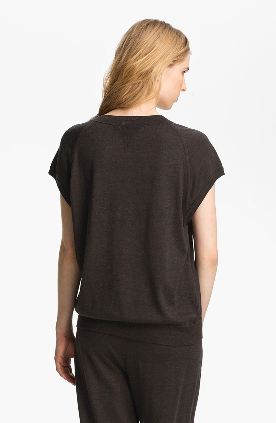 Alternate Image 3  - Theyskens' Theory 'Knug Yora' Short Sleeve Sweater