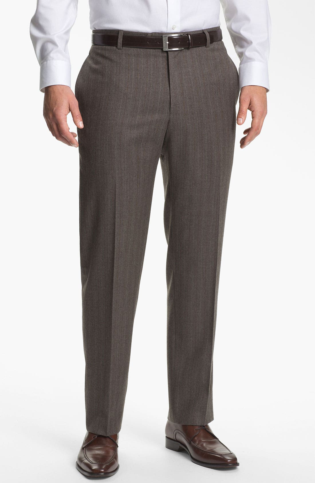 Alternate Image 4  - Joseph Abboud 'Profile' Trim Fit Stripe Suit
